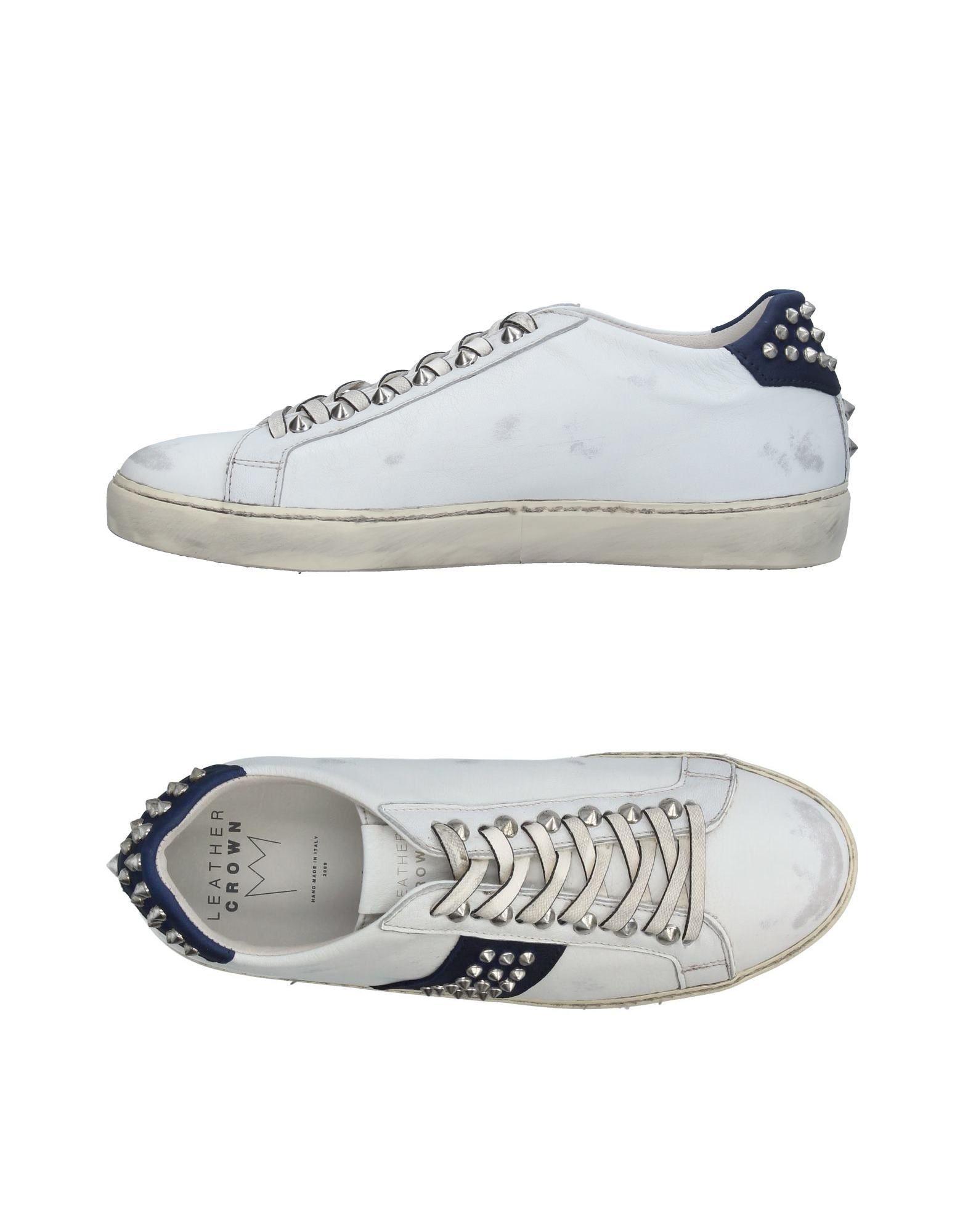 Leather Crown Sneakers Herren  11326638HX Gute Qualität beliebte Schuhe