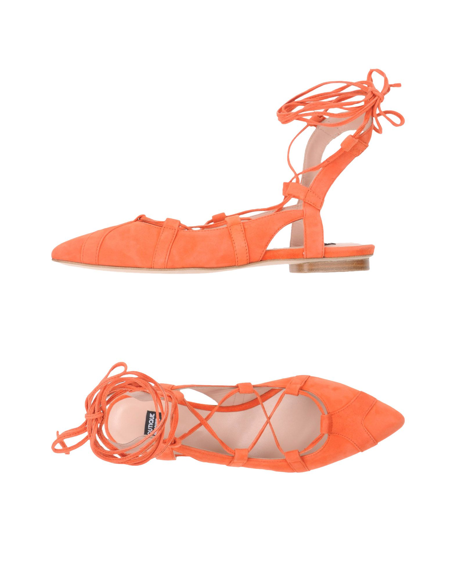 Stilvolle billige Schuhe Boutique Moschino Ballerinas Damen  11326647RO