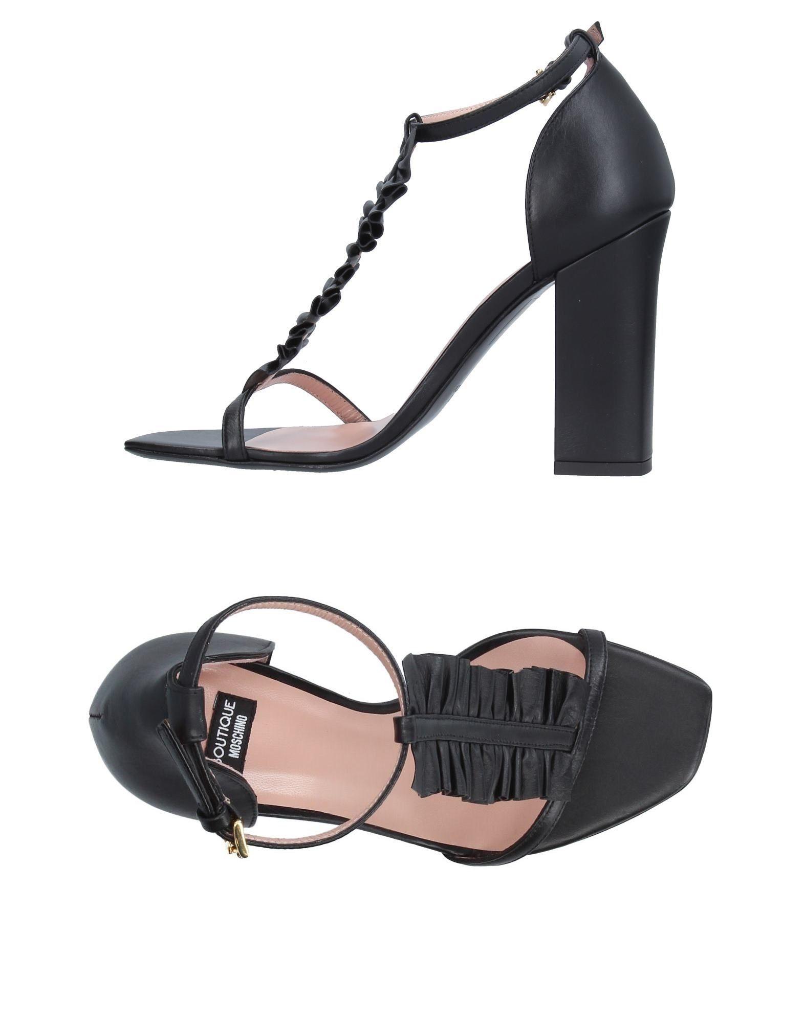 Boutique Moschino Sandalen 11326668PU Damen  11326668PU Sandalen Neue Schuhe 06ab01