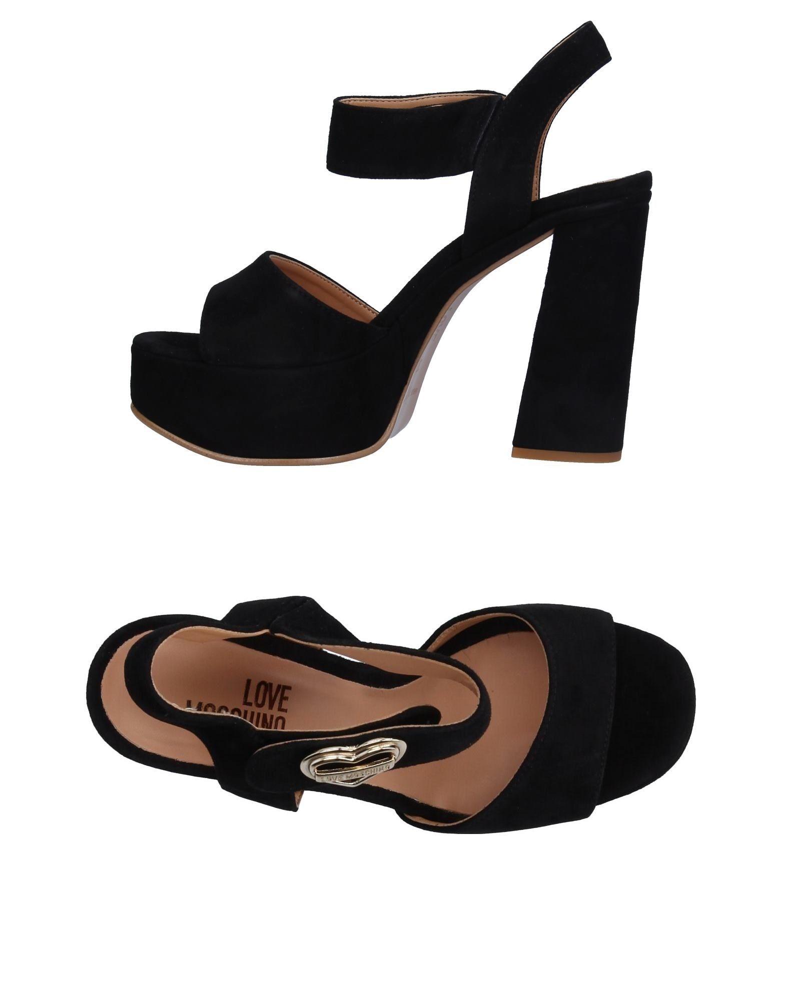 Love Moschino Sandalen Damen strapazierfähige  11326685AGGut aussehende strapazierfähige Damen Schuhe f2360d