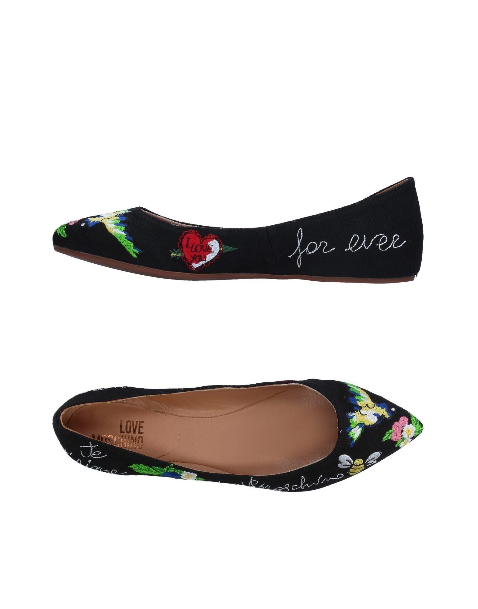 Stilvolle billige Schuhe Love Moschino Ballerinas Damen  11326708RS