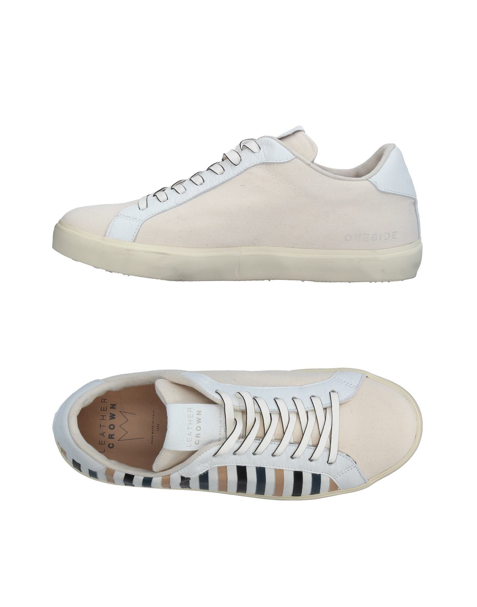 Sneakers Leather Crown Uomo - 11326748HD