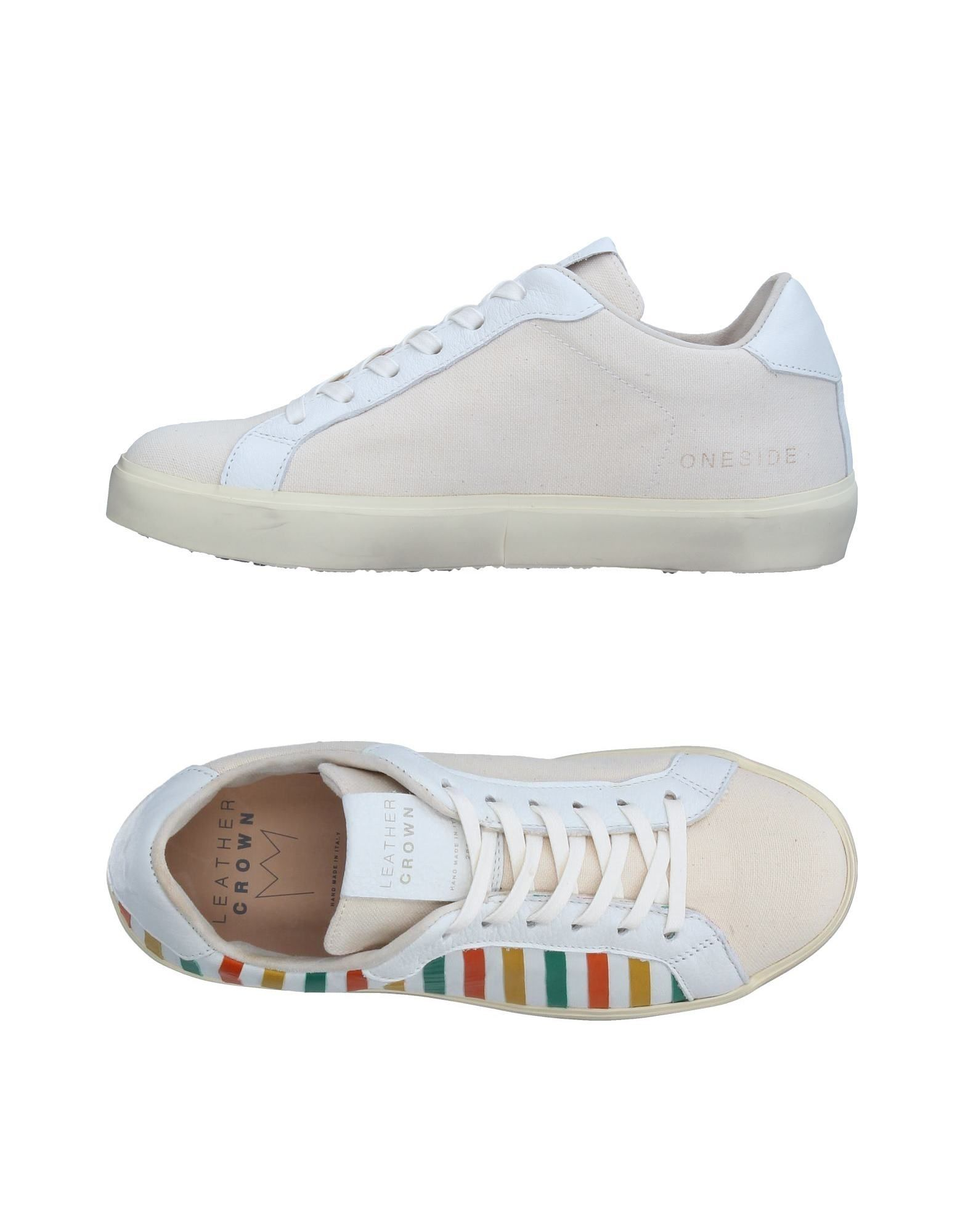 Sneakers Leather Crown Donna - 11326760QS