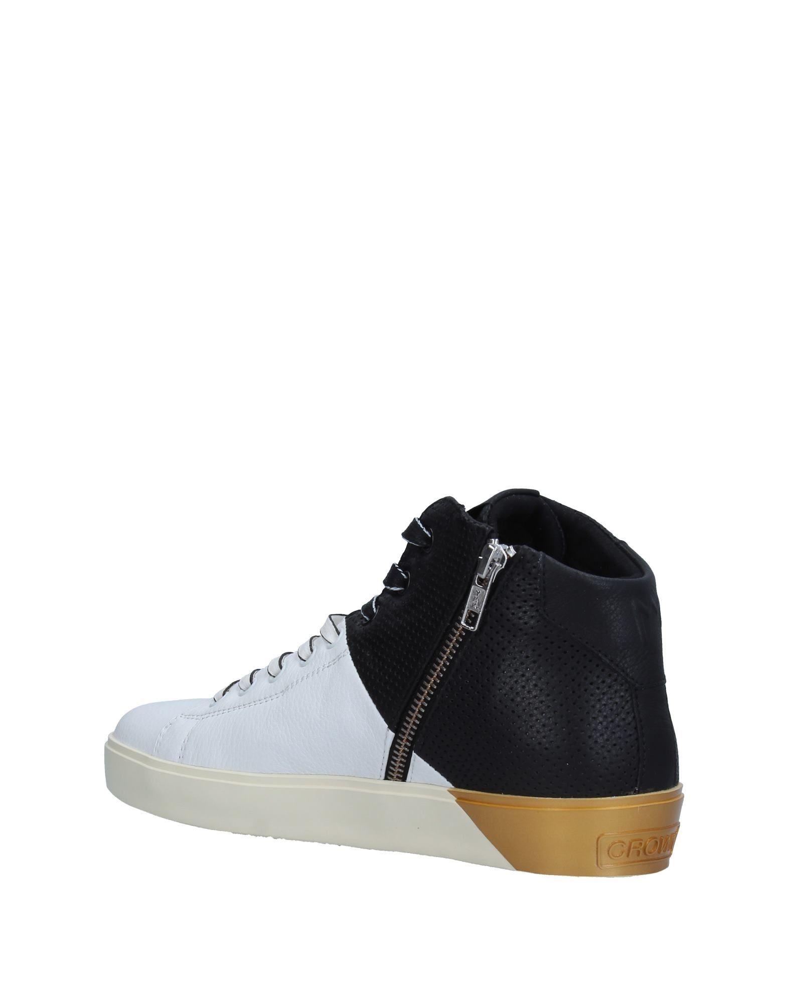 Stilvolle billige Schuhe Leder  Crown Sneakers Damen  Leder 11326764RN 04baaf