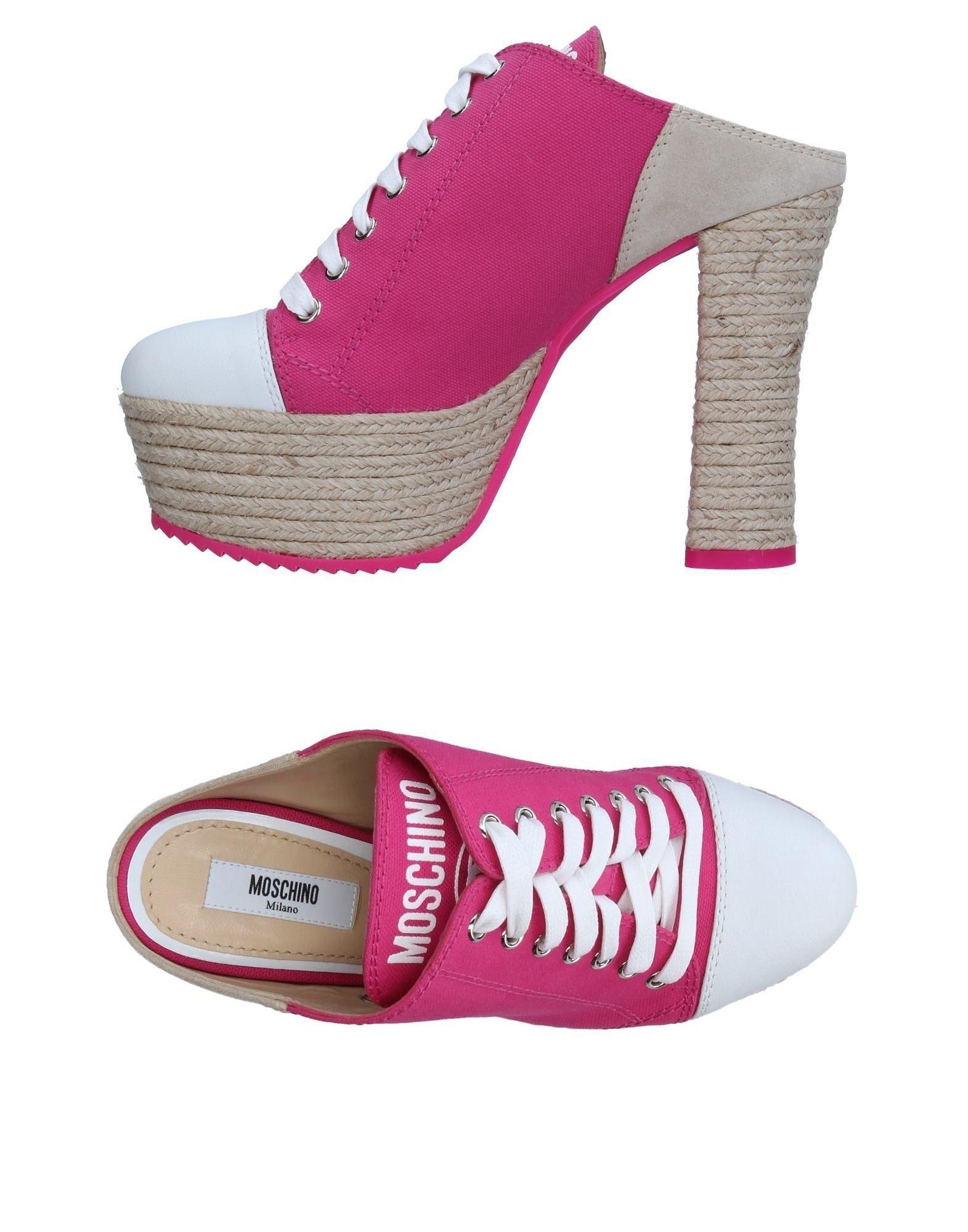 Haltbare Mode billige Schuhe Moschino Pantoletten Damen  11326773UM Heiße Schuhe