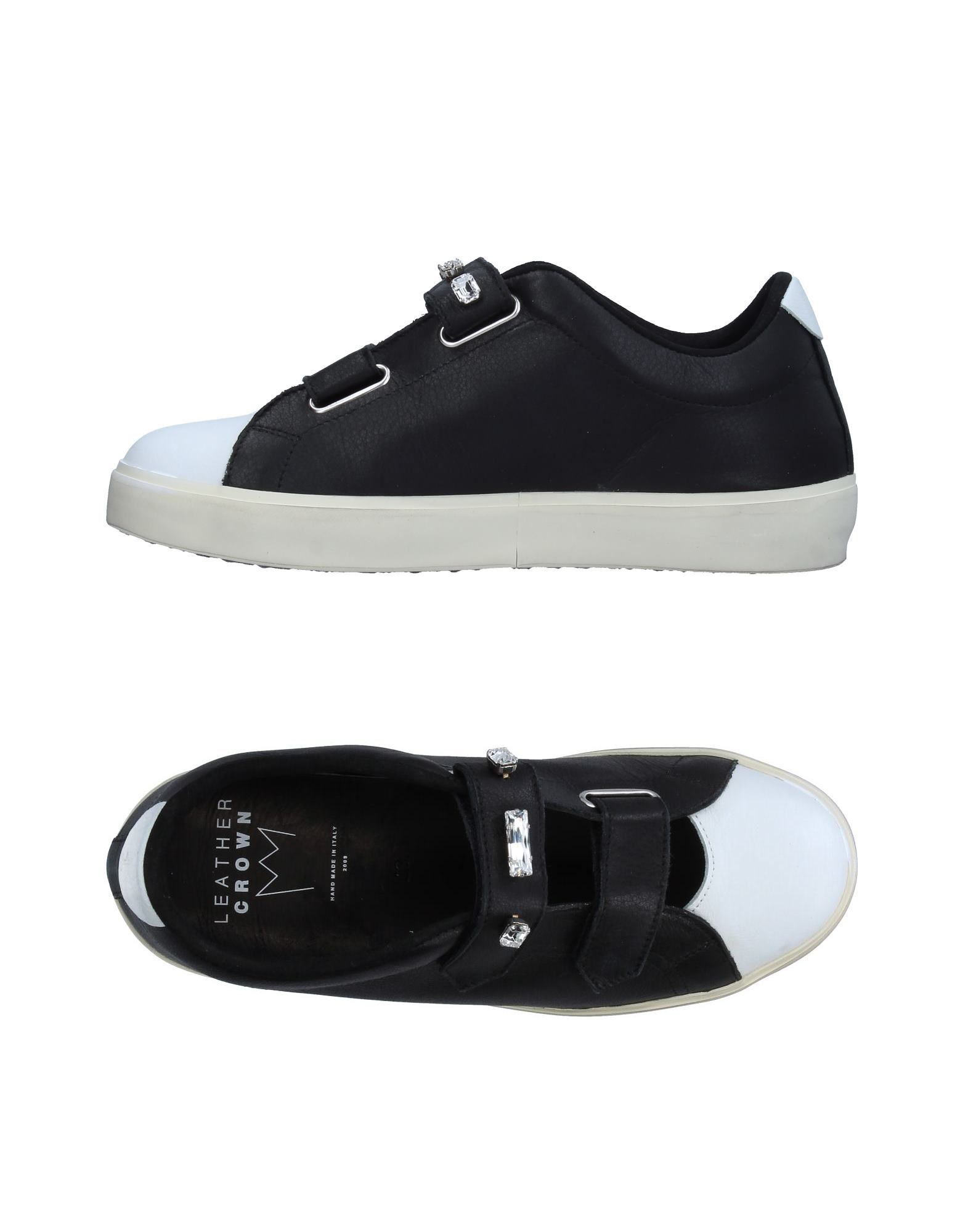Sneakers Leather Crown Donna - 11326783IJ