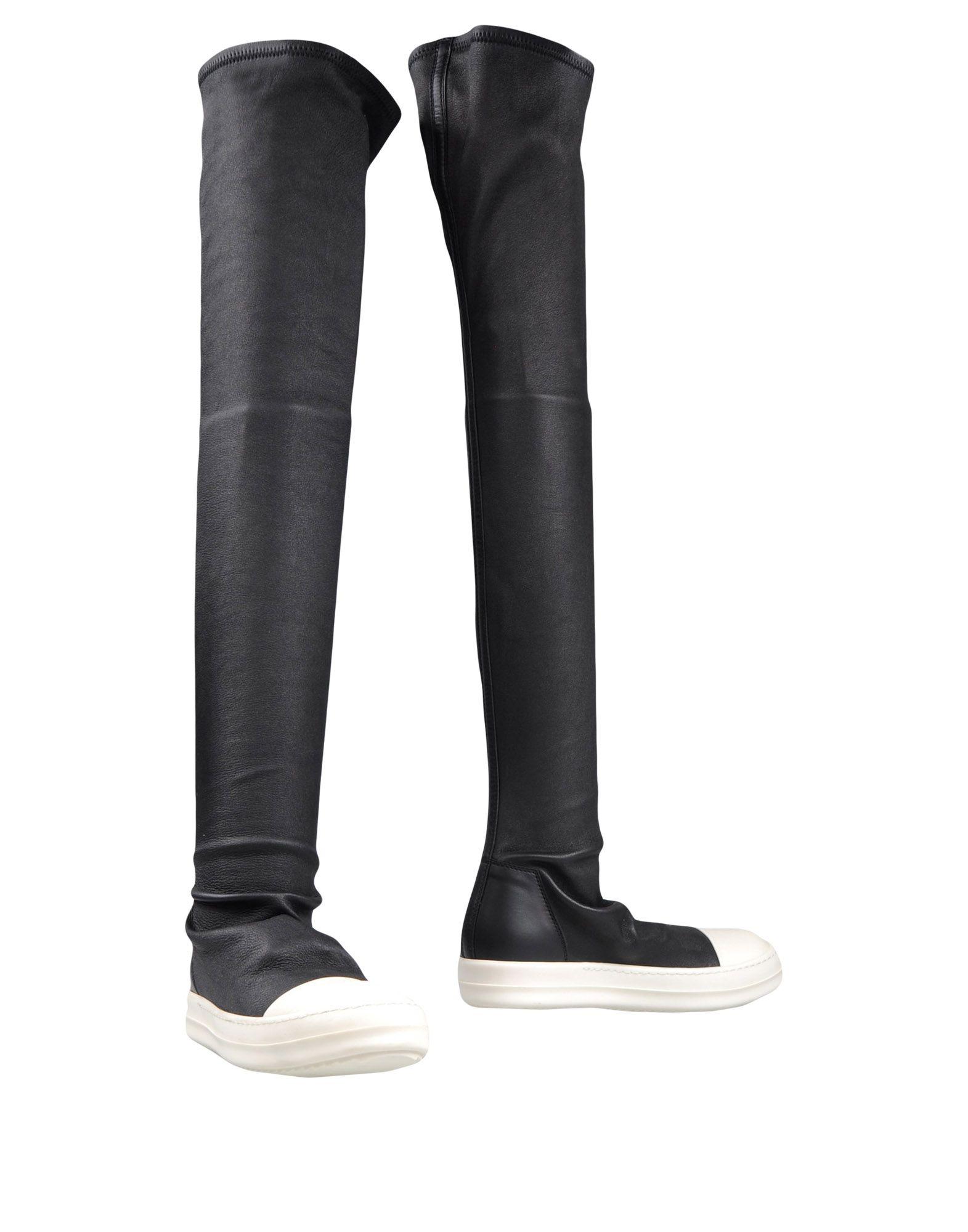 Rick Owens Stiefel aussehende Damen  11326789PKGünstige gut aussehende Stiefel Schuhe 4c6e5f