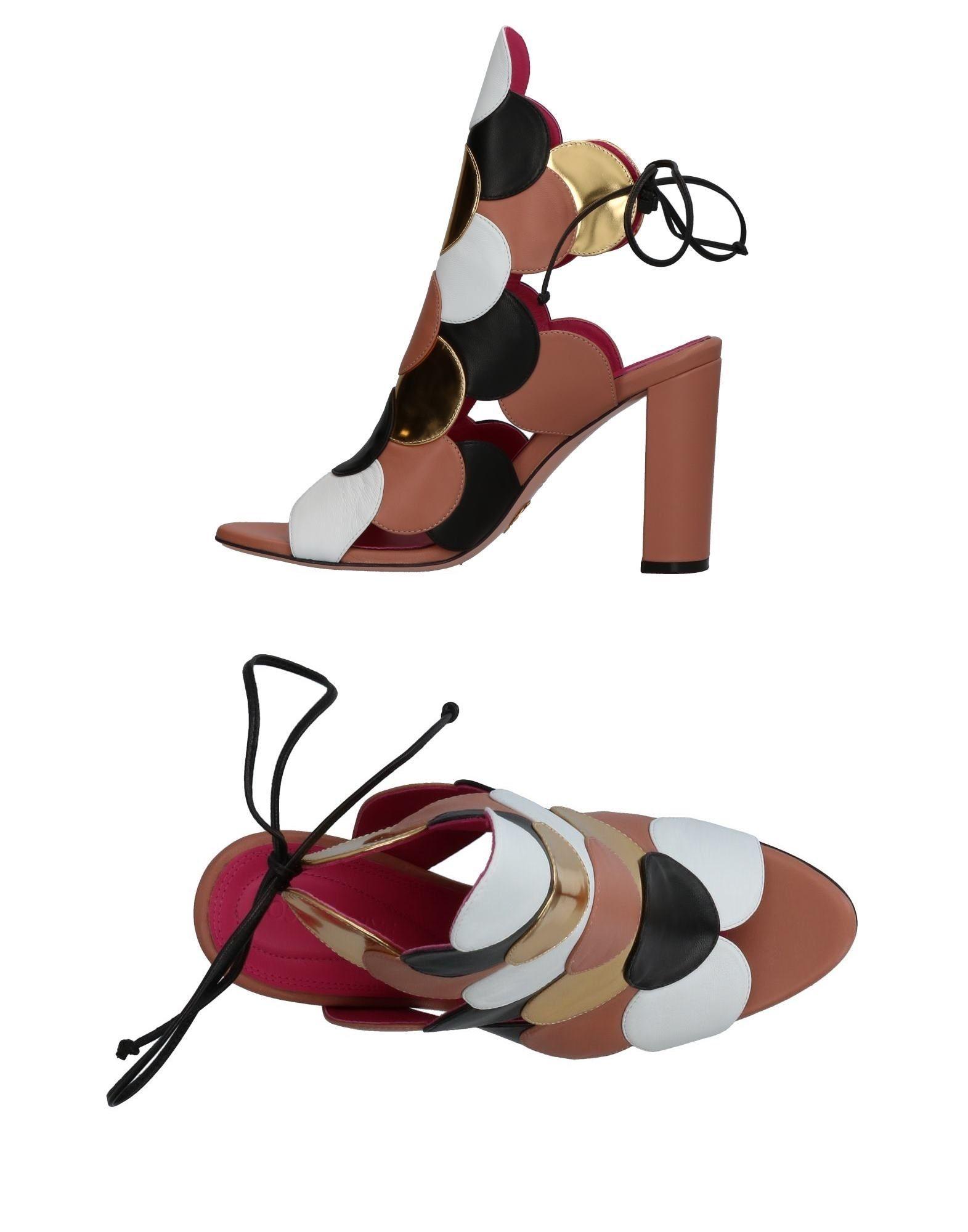 Stilvolle billige Schuhe Oscar Tiye Sandalen Damen  11326809WU