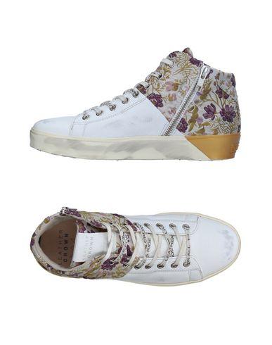 Los últimos zapatos de hombre y mujer Leather Zapatillas Leather mujer Crown Mujer - Zapatillas Leather Crown - 11326858KA Blanco 26cdd6