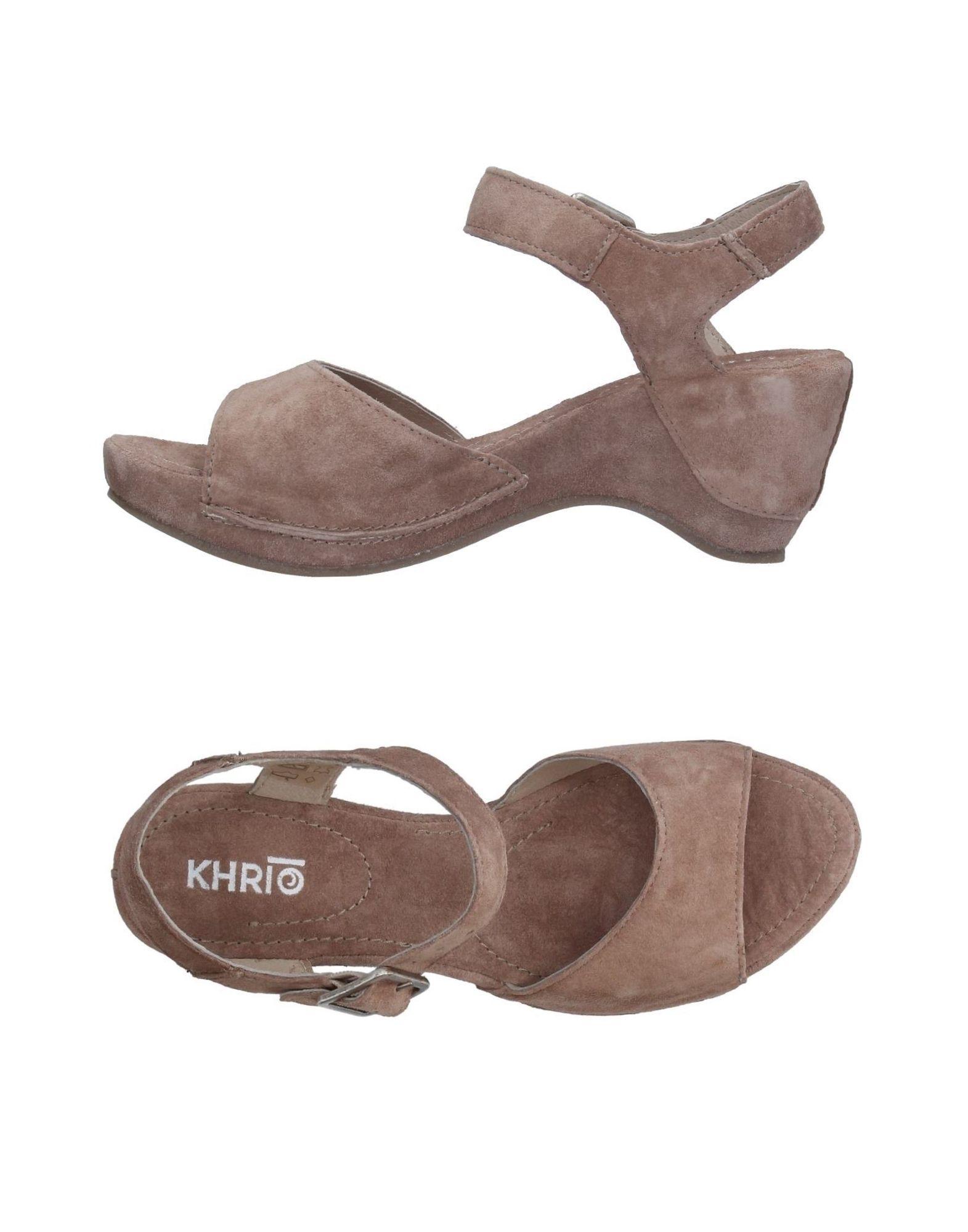 Haltbare Mode billige Schuhe Khrio' Sandalen Damen  11326962KX Heiße Schuhe