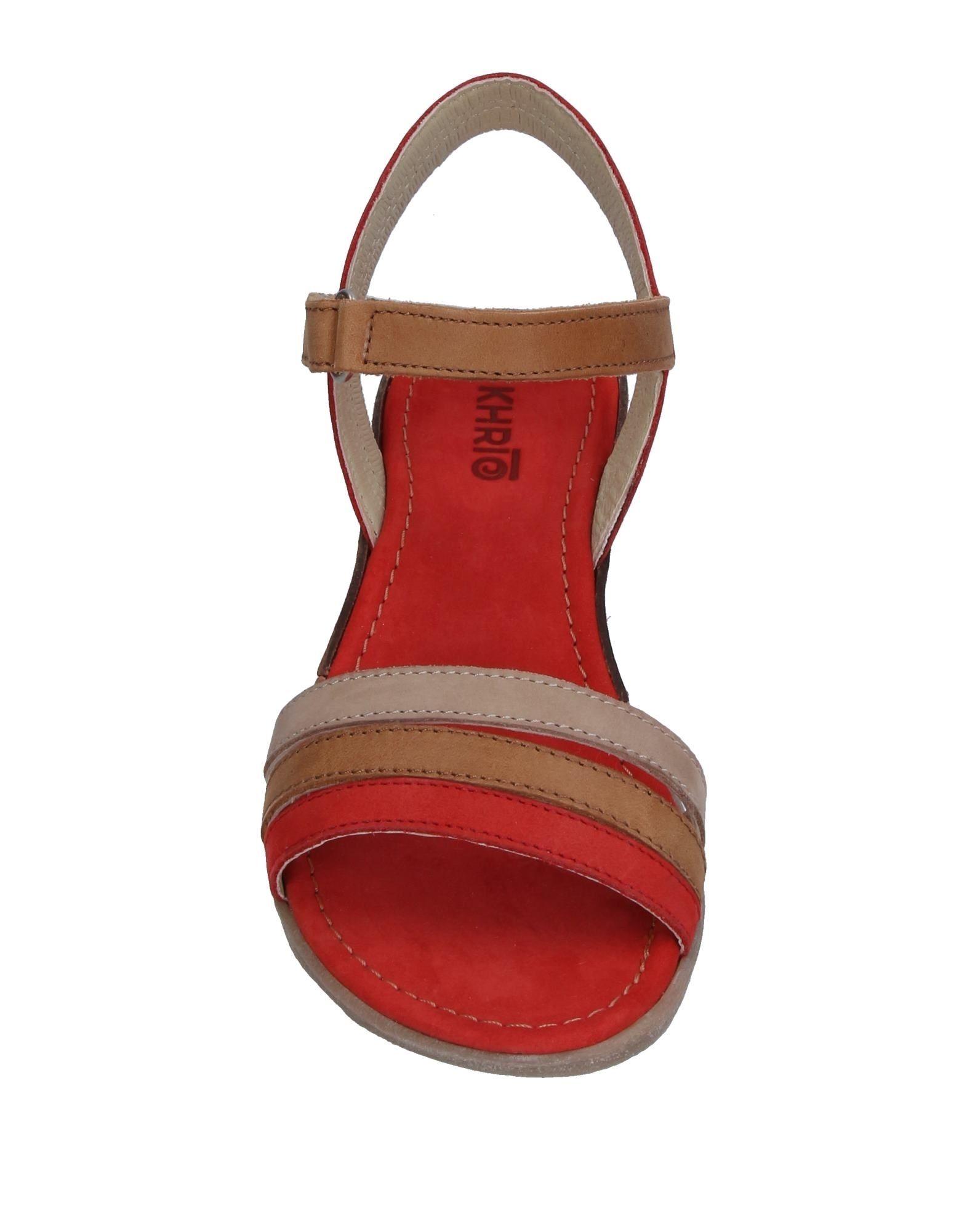 Khrio' Sandalen Sandalen Khrio' Damen  11326988DV Heiße Schuhe a81e89