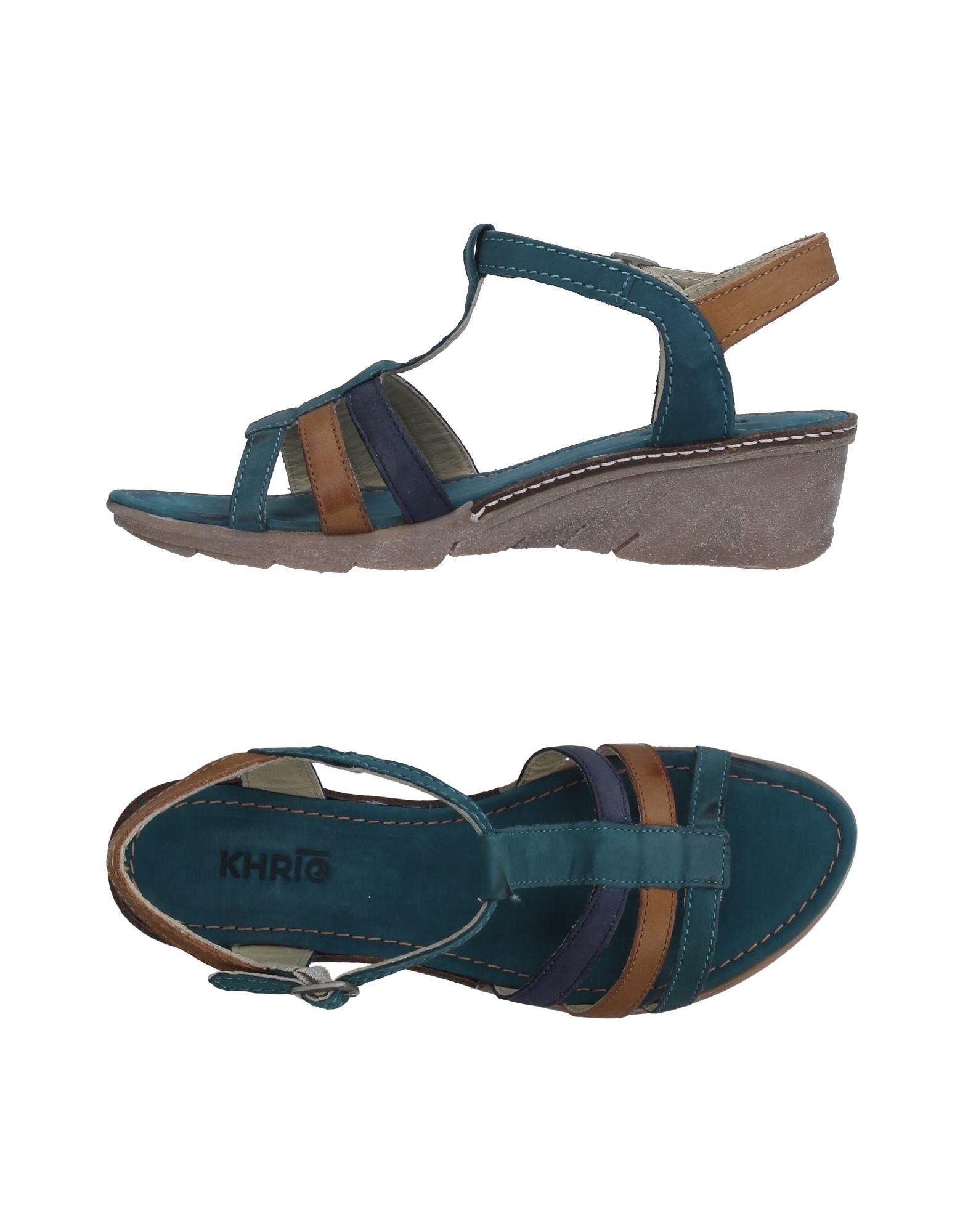 Khrio' Sandalen Damen  11327006WH Gute Qualität beliebte Schuhe