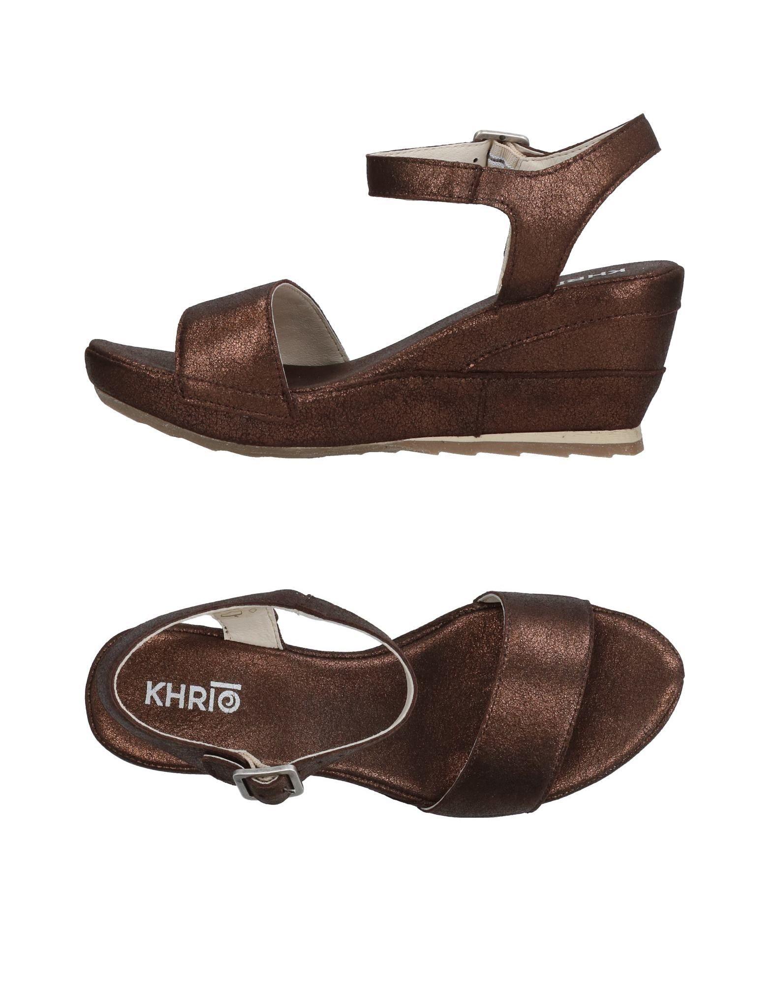Khrio' Sandalen Damen  11327039BW Schuhe Heiße Schuhe 11327039BW 013528