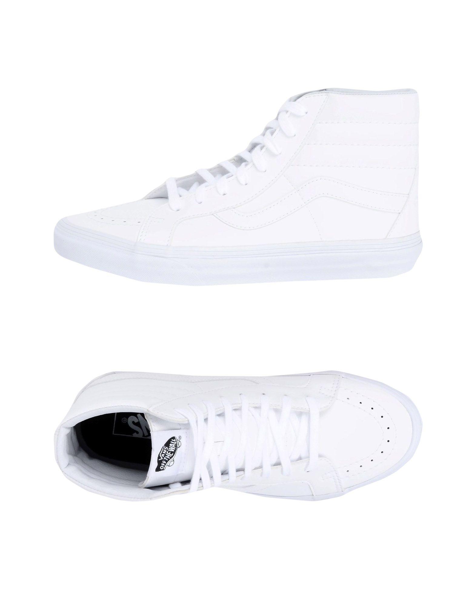 Zapatillas Vans Ua Sk8-Hi Reissue - Mujer Zapatillas - Zapatillas Mujer Vans  Blanco b59b4d