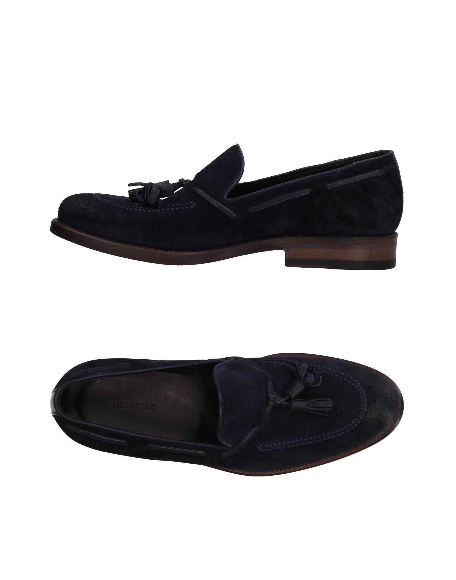 Rabatt echte Schuhe Migliore Mokassins Herren  11327469EI