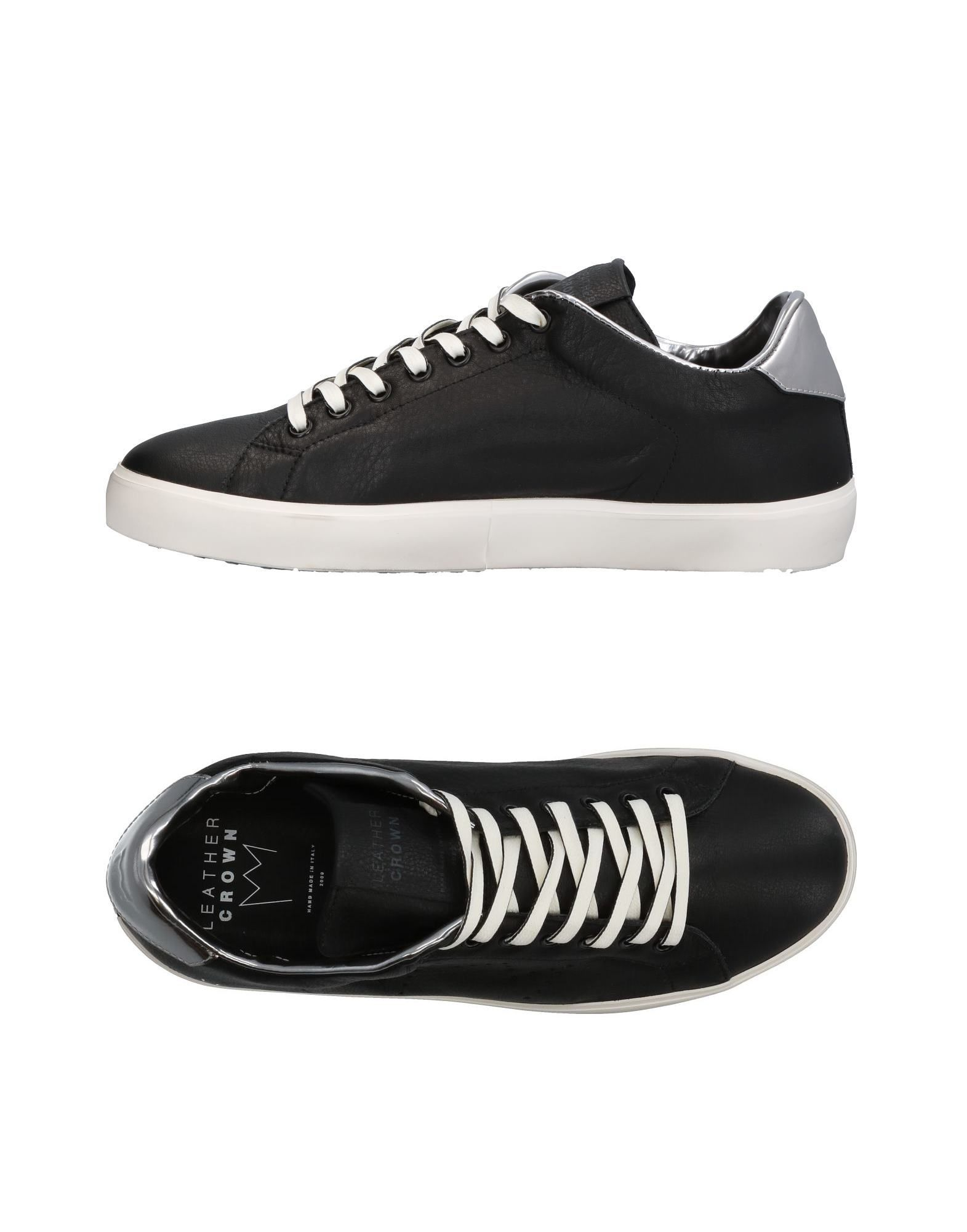 Sneakers Leather Crown Uomo - 11327496BV