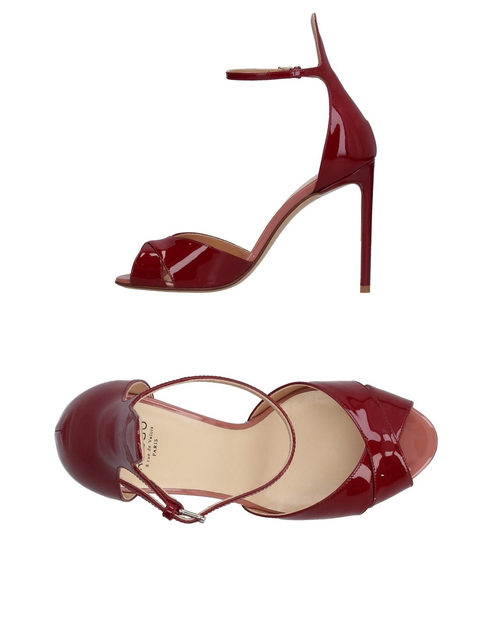Rabatt Schuhe Francesco Russo Sandalen Damen  11327530UW