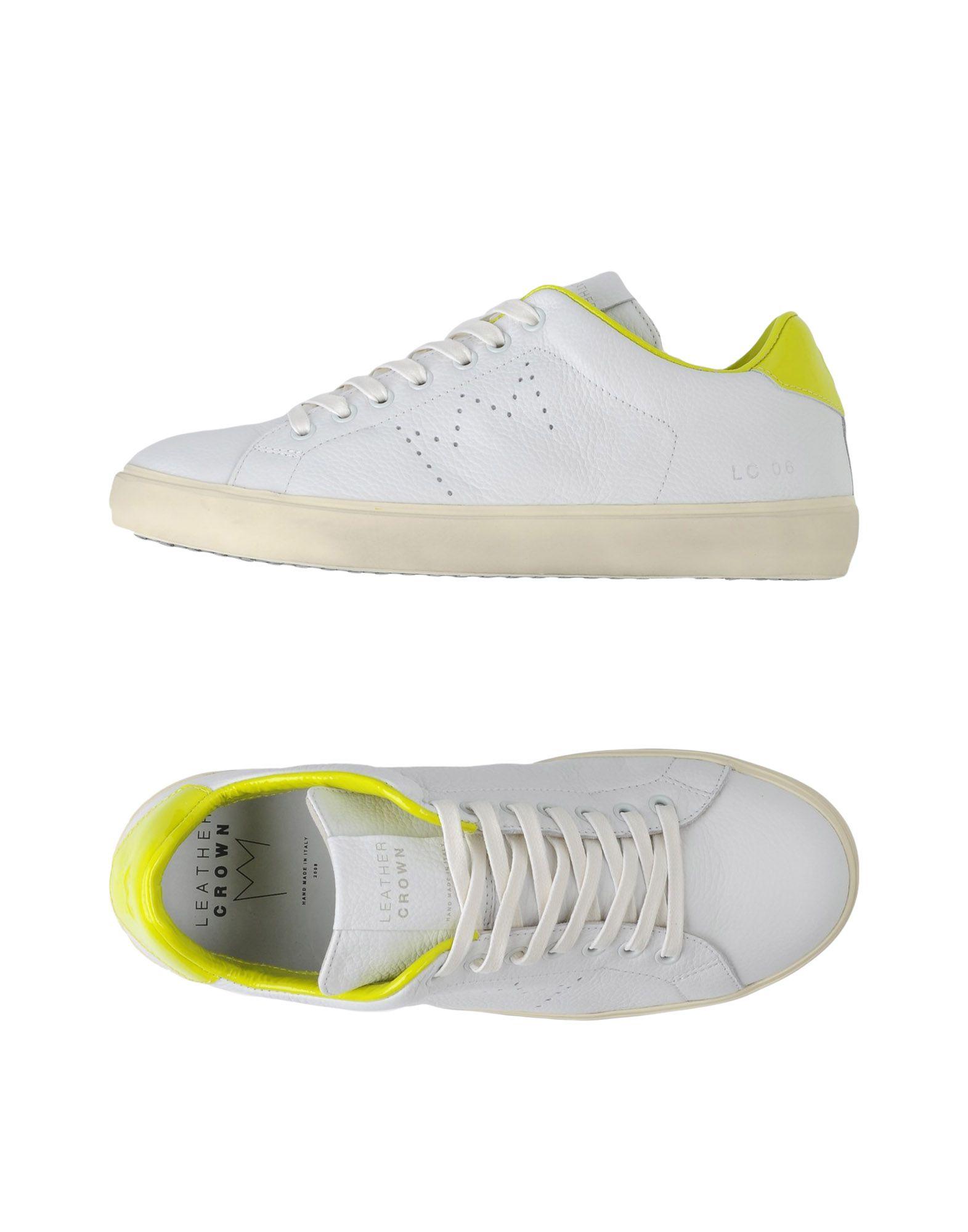 Leather Crown Sneakers  Herren  Sneakers 11327623FA 112309
