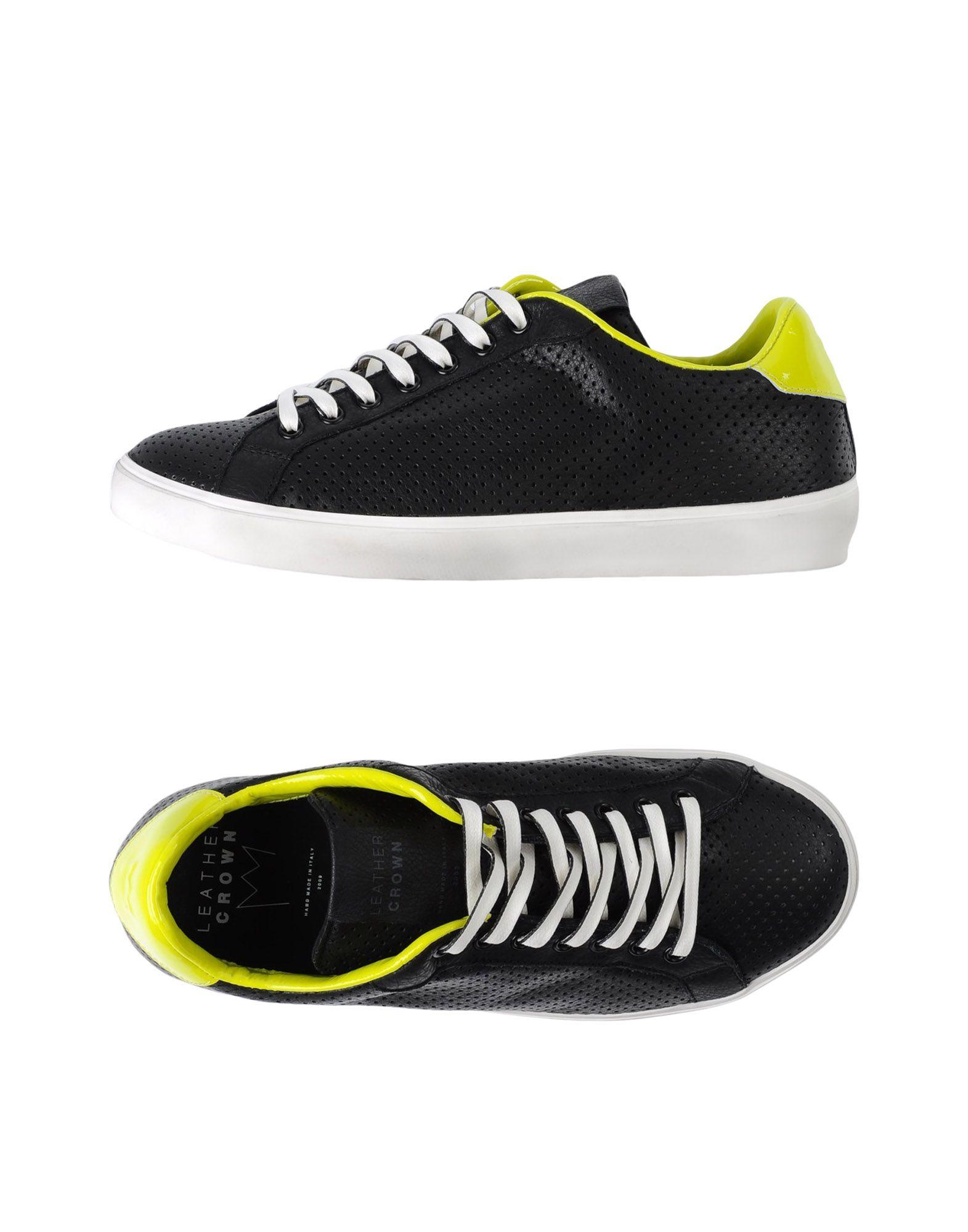 Sneakers Leather Crown Uomo - 11327632RI