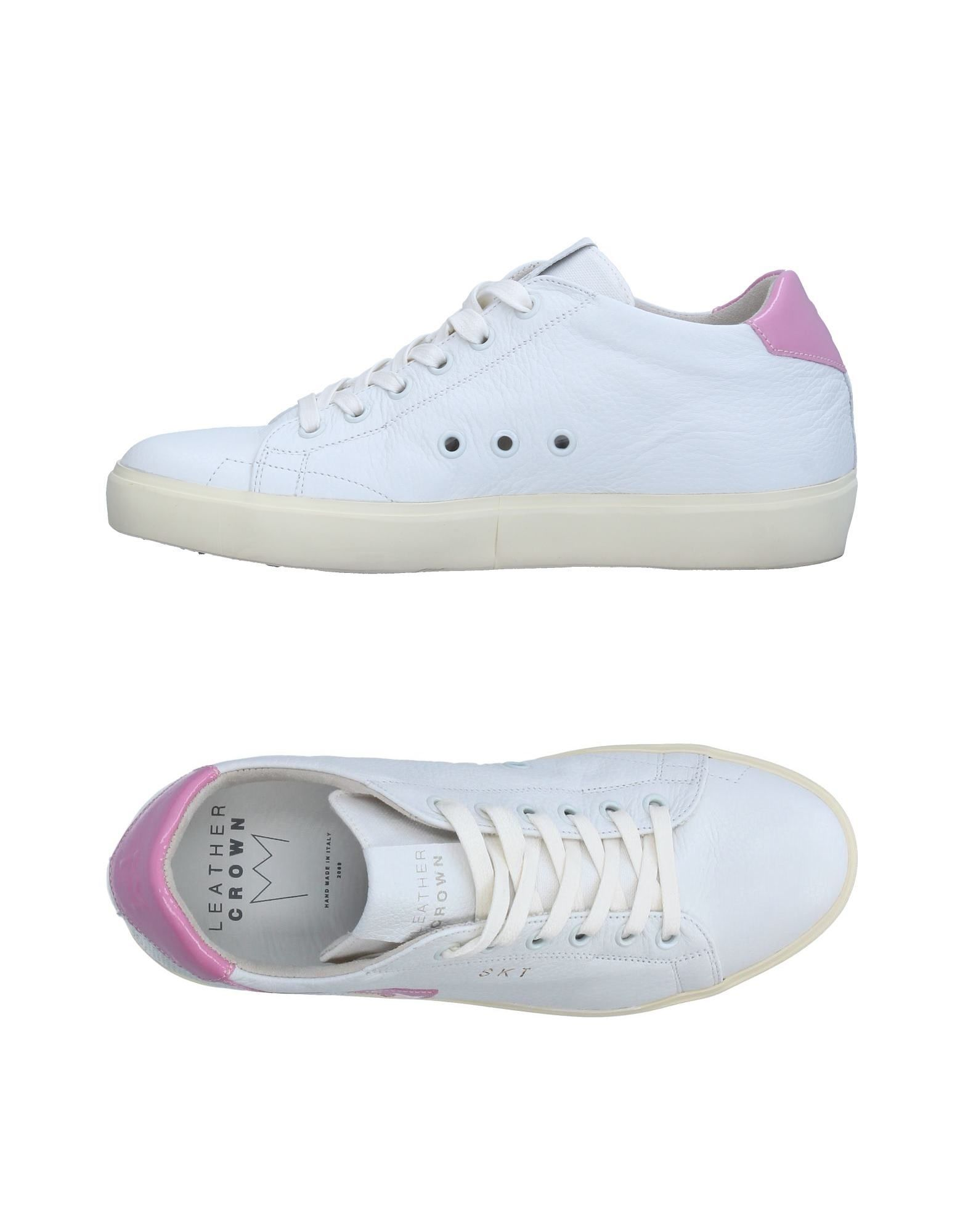 Sneakers Leather Crown Donna - 11327648NG