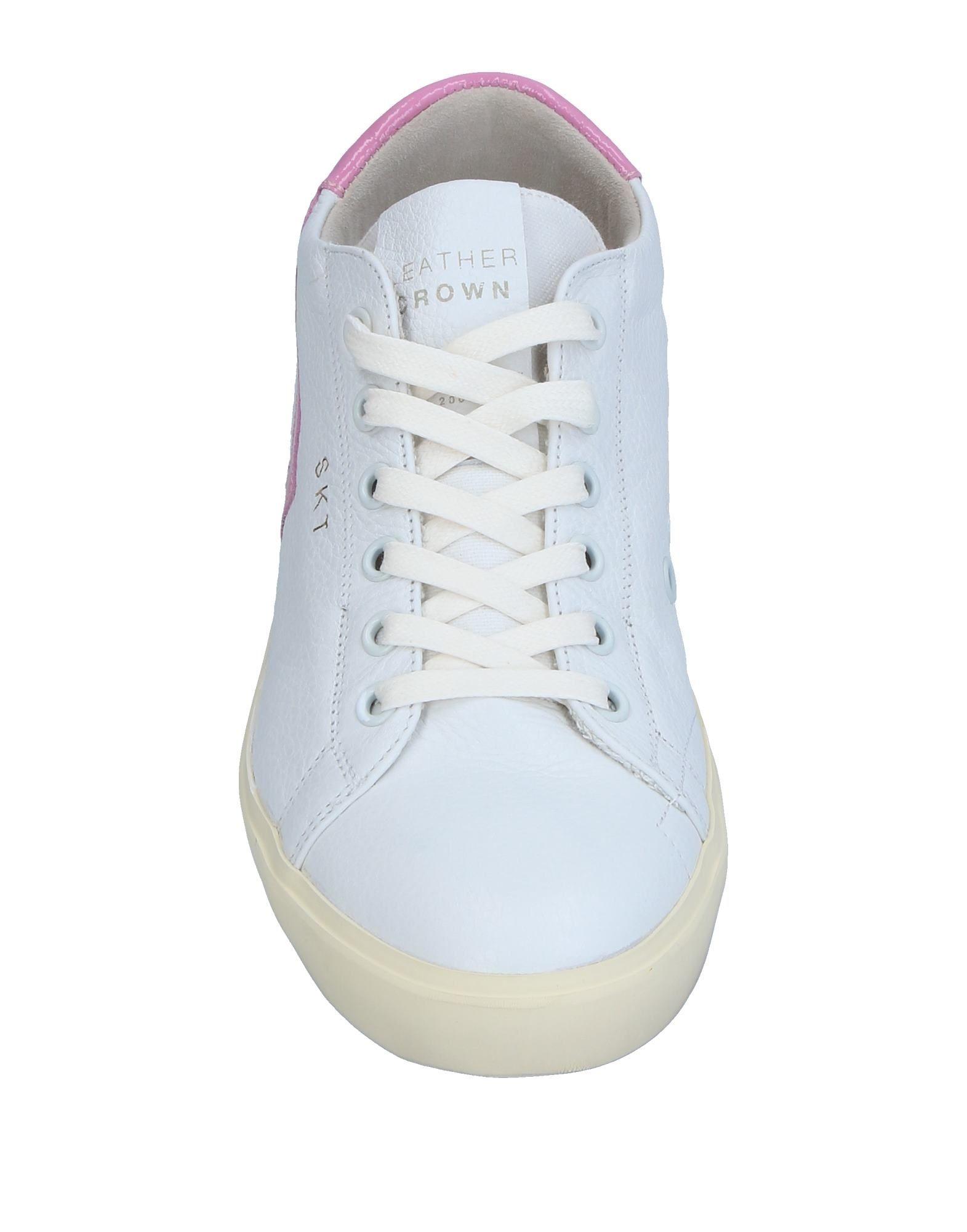 Gut um billige Schuhe Damen zu tragenLeather Crown Sneakers Damen Schuhe  11327648NG b1a322