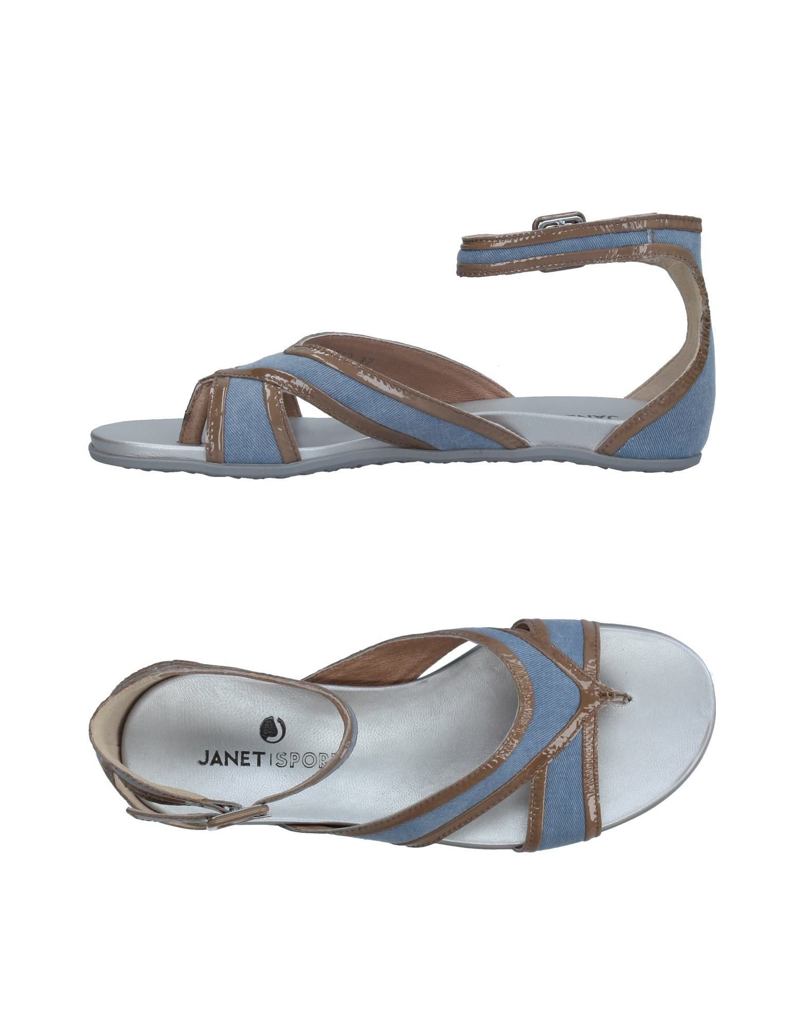 Janet Sport Dianetten Damen  11327750LW Gute Qualität beliebte Schuhe