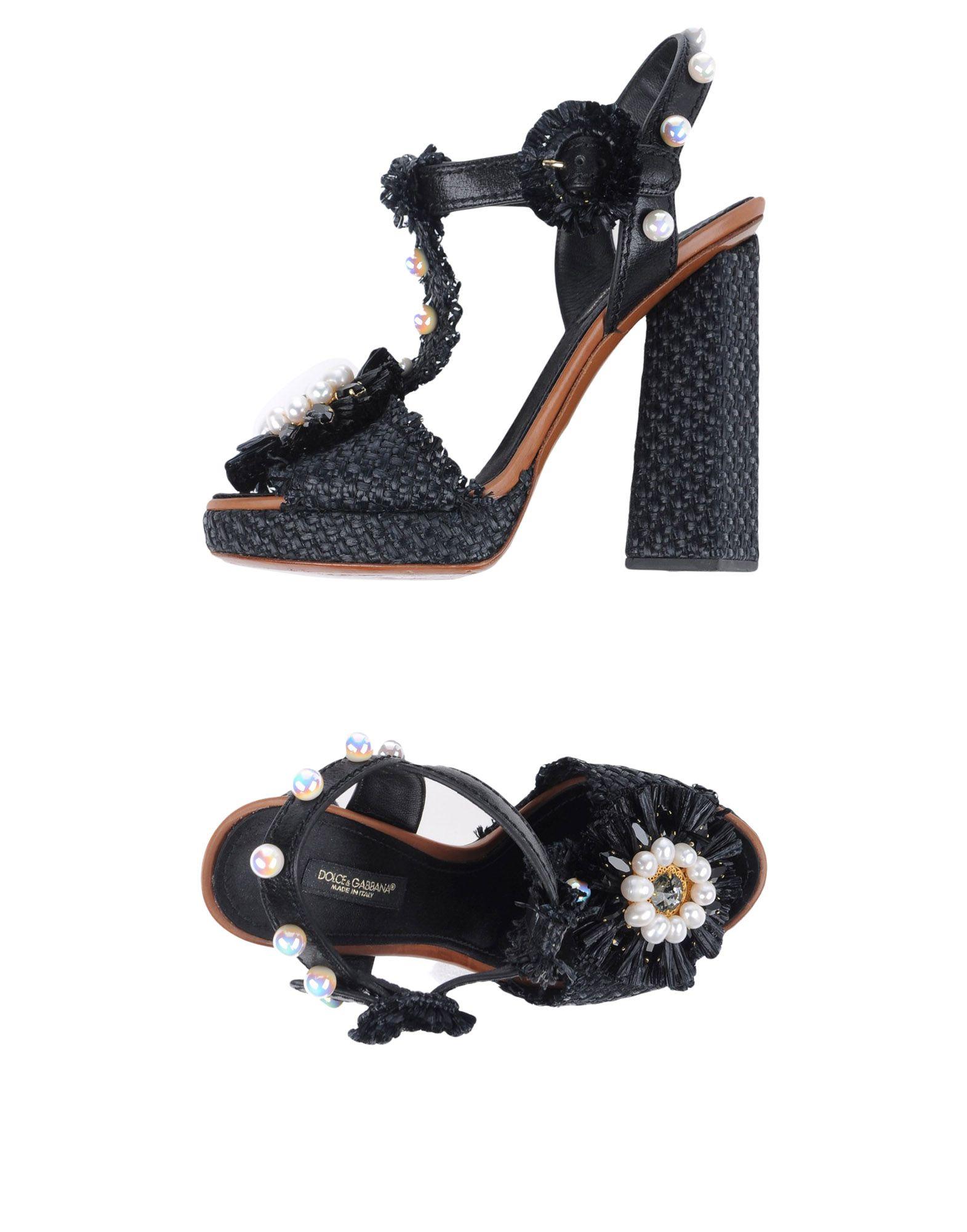 Dolce & Gabbana Sandalen Damen  11327837OGGünstige gut aussehende Schuhe