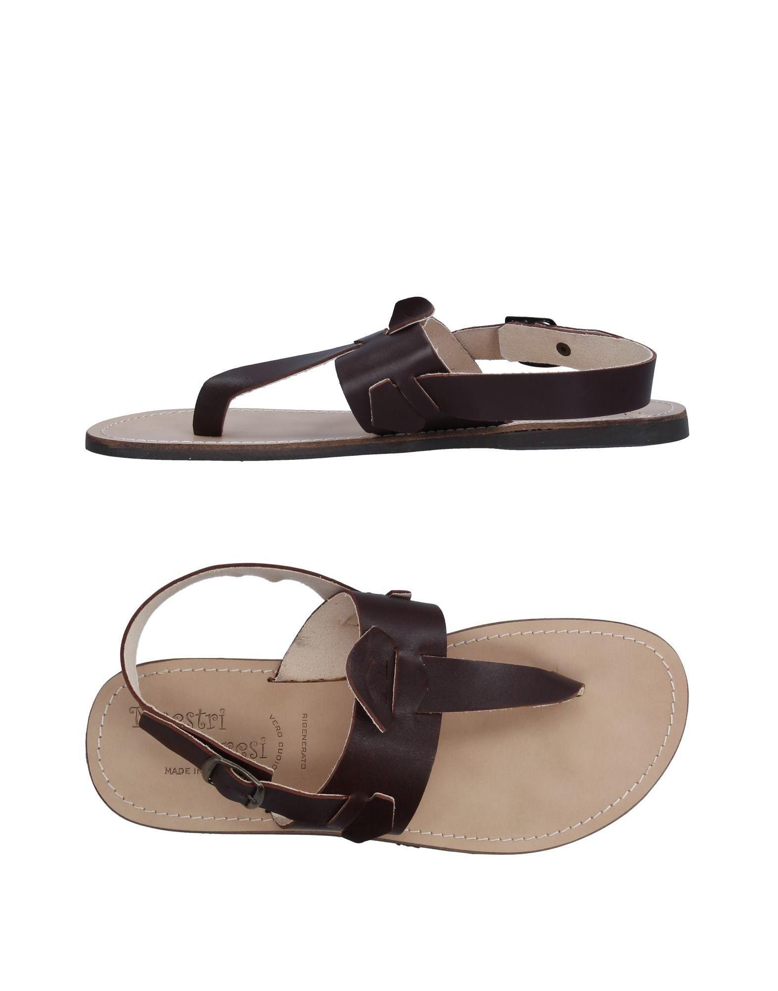 Rabatt echte Schuhe Maestri Capresi Dianetten Herren  11328055FA