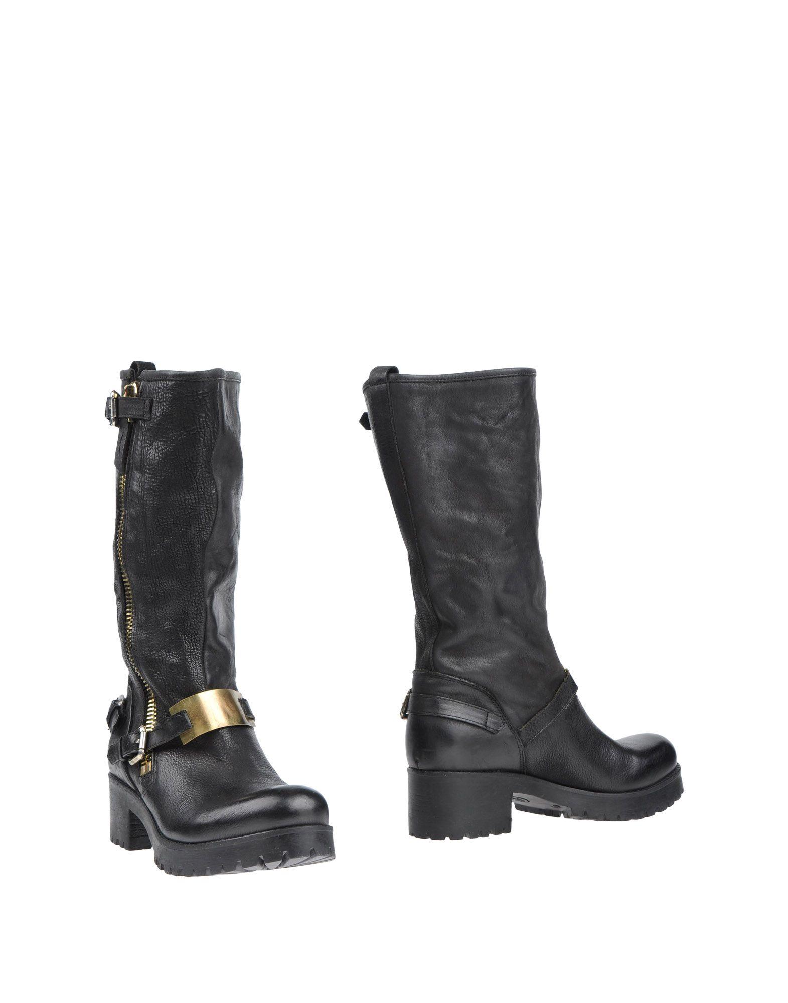 Manila Grace Denim Stiefel Damen  11328446ND Gute Qualität beliebte Schuhe