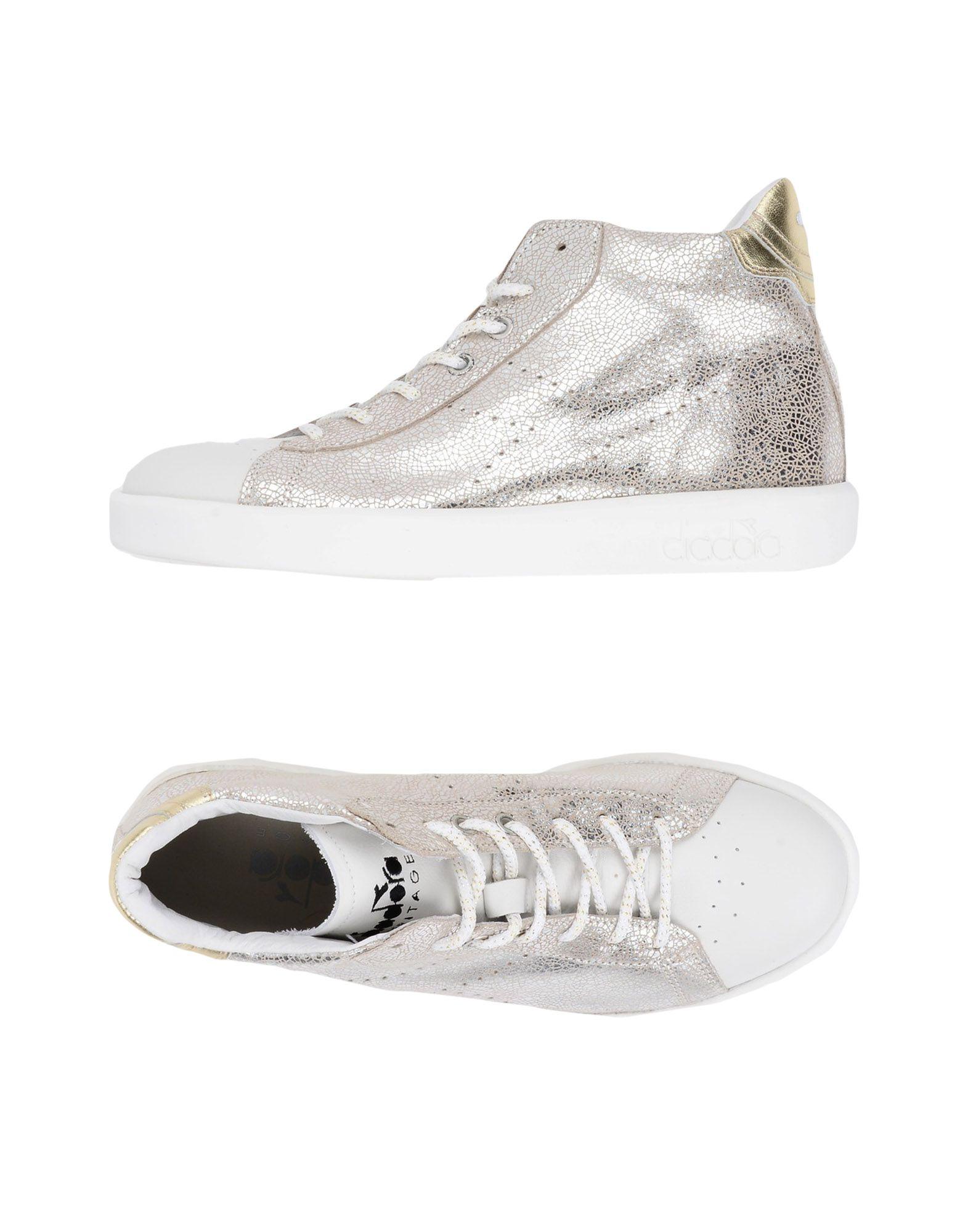 Stilvolle billige Schuhe Diadora Heritage Game H Mid Silver Pack  11328551AF