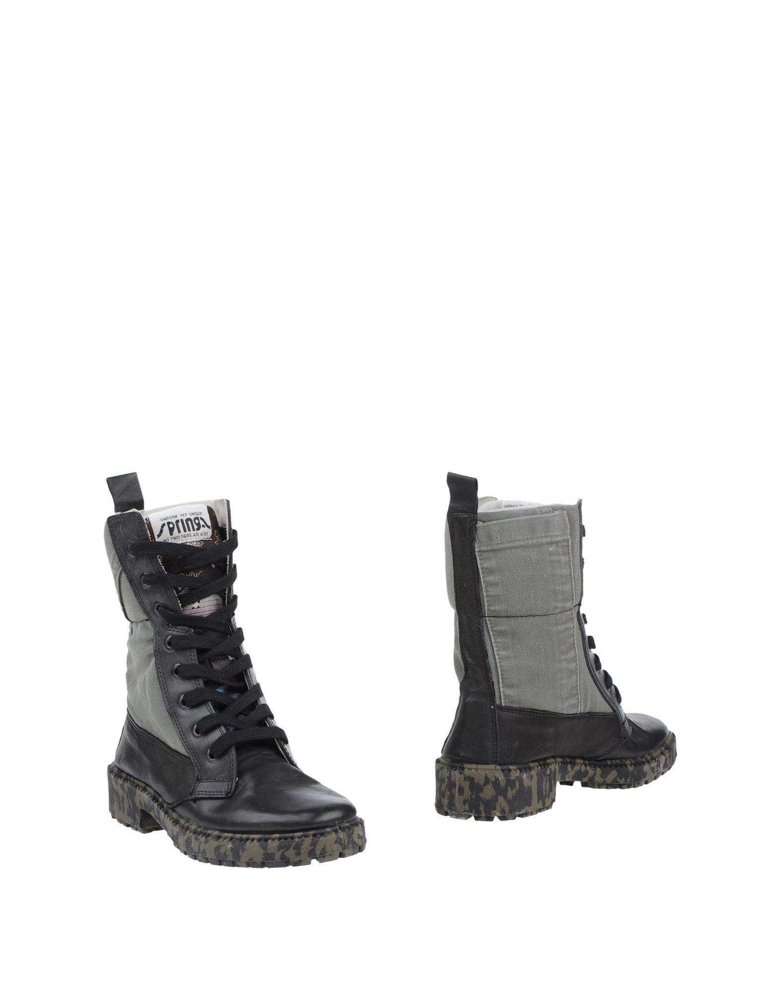 Haltbare Mode billige Schuhe Springa Stiefelette Damen  11329291WM Heiße Schuhe