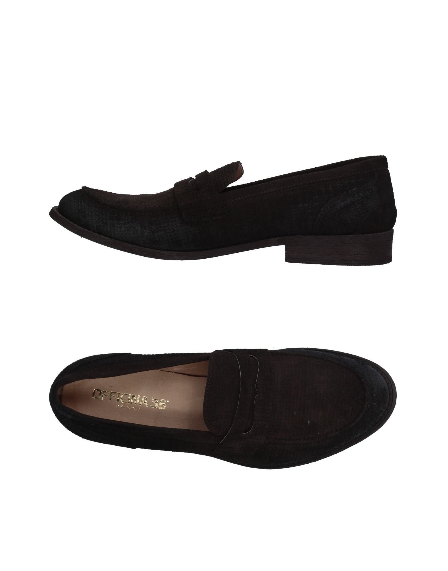Rabatt echte Schuhe Officina 36 Mokassins Herren  11329741XE