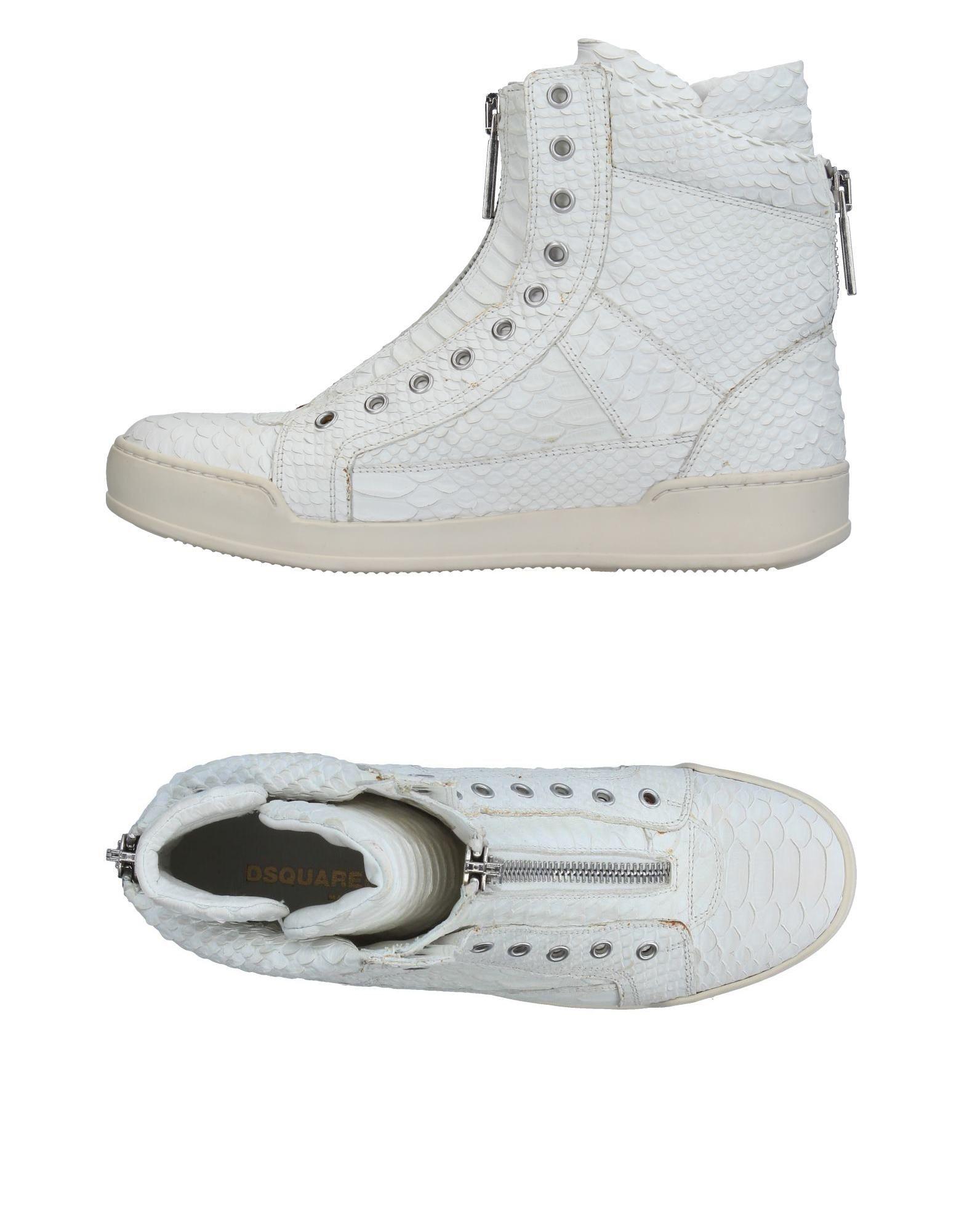 Chaussures De Sport Pour Les Hommes En Vente, Noir, Cuir, 2017, 41 42 43 42,5 Dsquared2