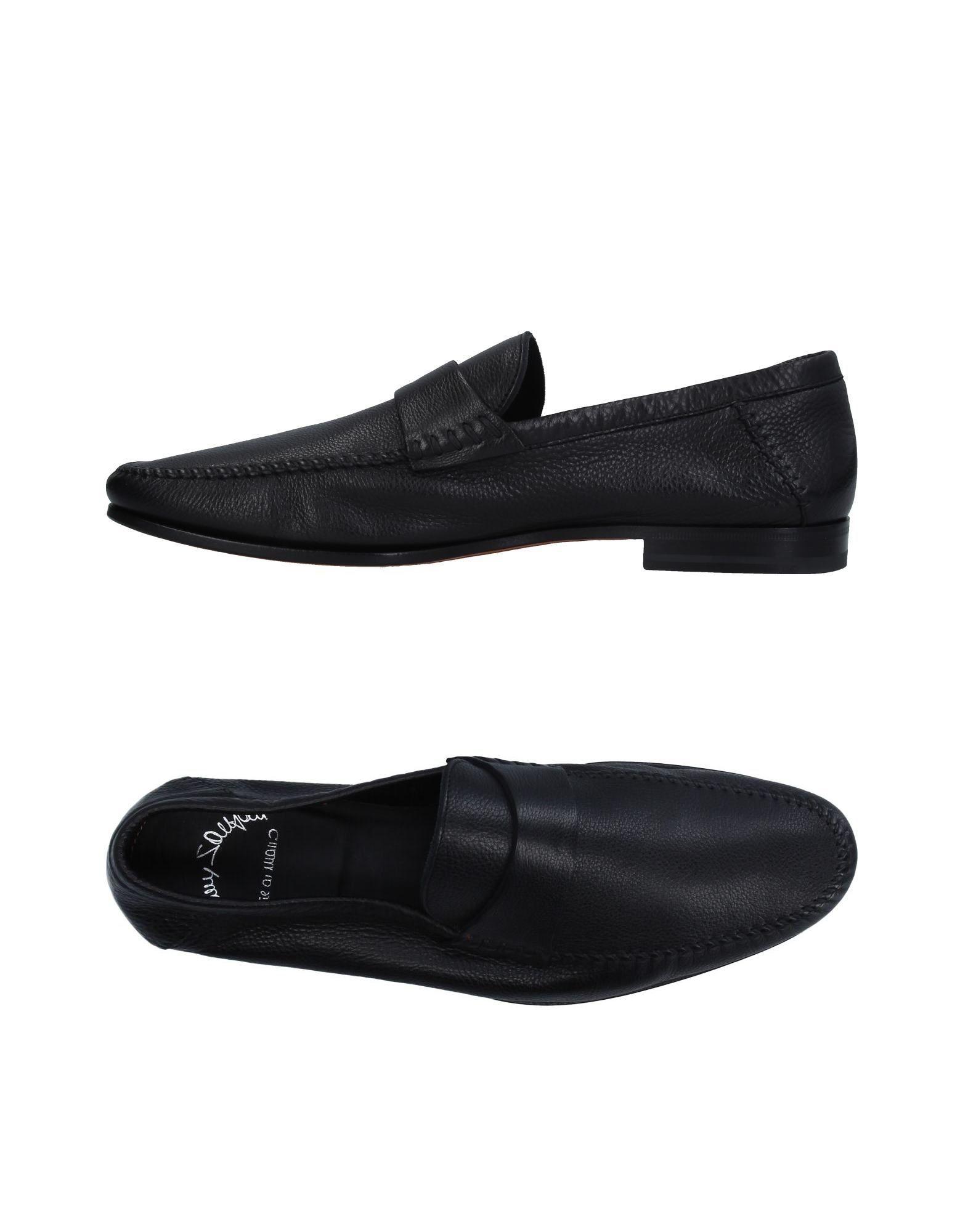 Santoni Mokassins Herren  11330067TN Gute Qualität beliebte Schuhe