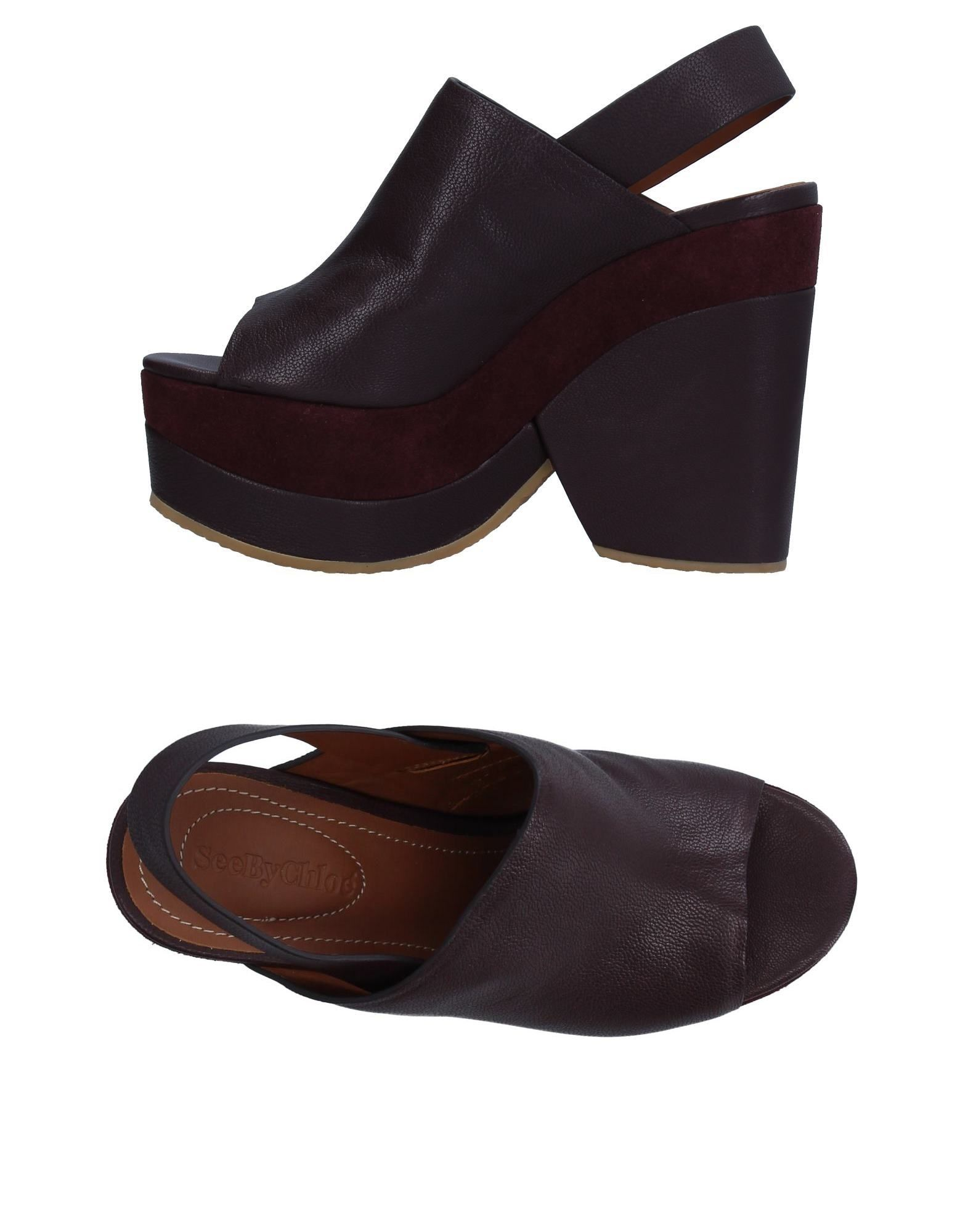 Rabatt Schuhe See By Chloé Sandalen Damen  11330319FA