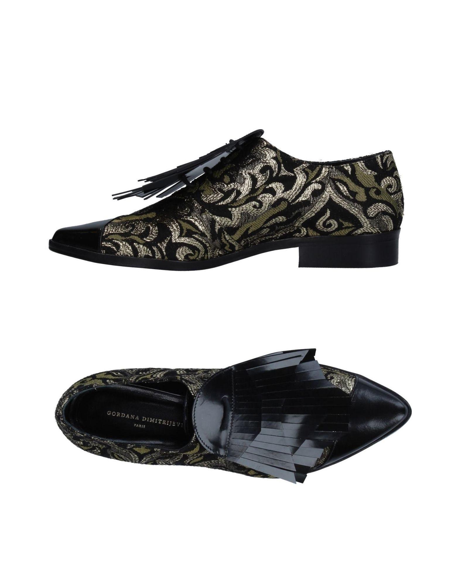 Stilvolle billige Schuhe Gordana Dimitrijević Schnürschuhe Damen  11330385DJ