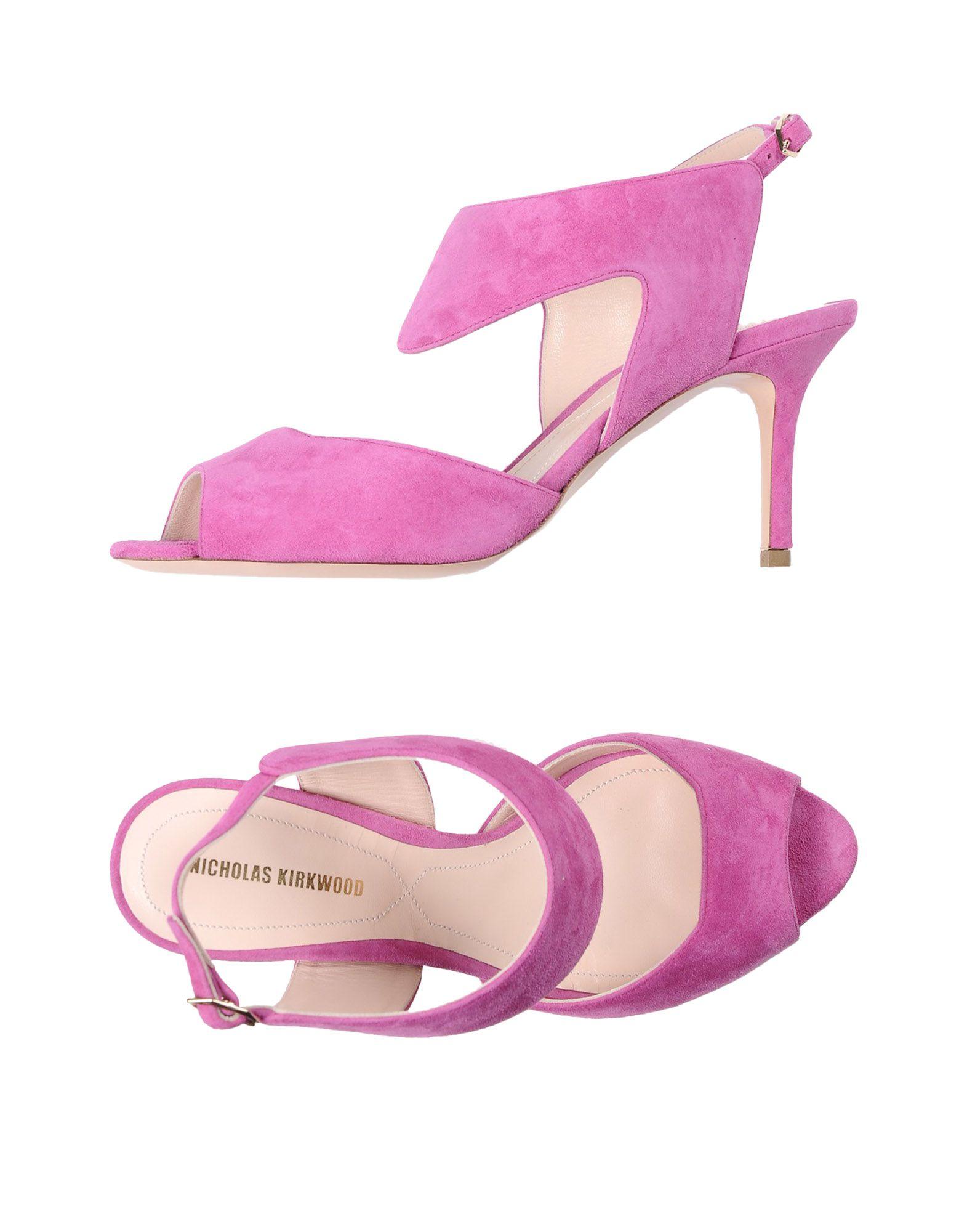 Stilvolle billige Schuhe Nicholas Kirkwood Sandalen Damen  11330386XO