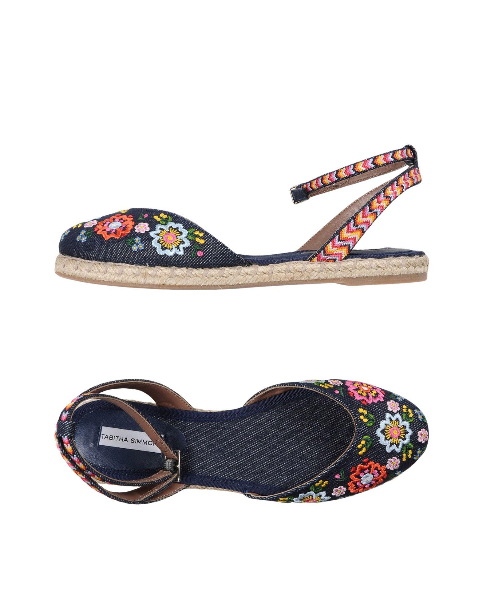 Gut um billige Schuhe zu zu zu tragenTabitha Simmons Espadrilles Damen  11330465HW 64a73d