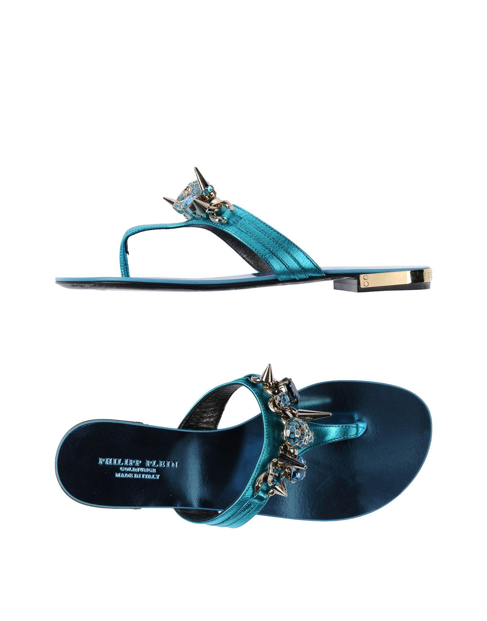 Rabatt Schuhe Philipp Plein Dianetten Damen  11330696BE