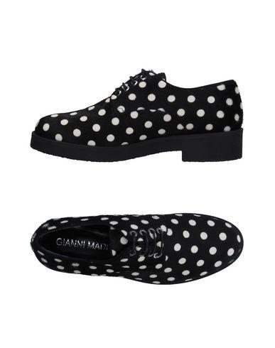 Zapato De Cordones Gianni De Marra Mujer - Zapatos De Gianni Cordones Gianni Marra - 11330706AU Negro d6fc40