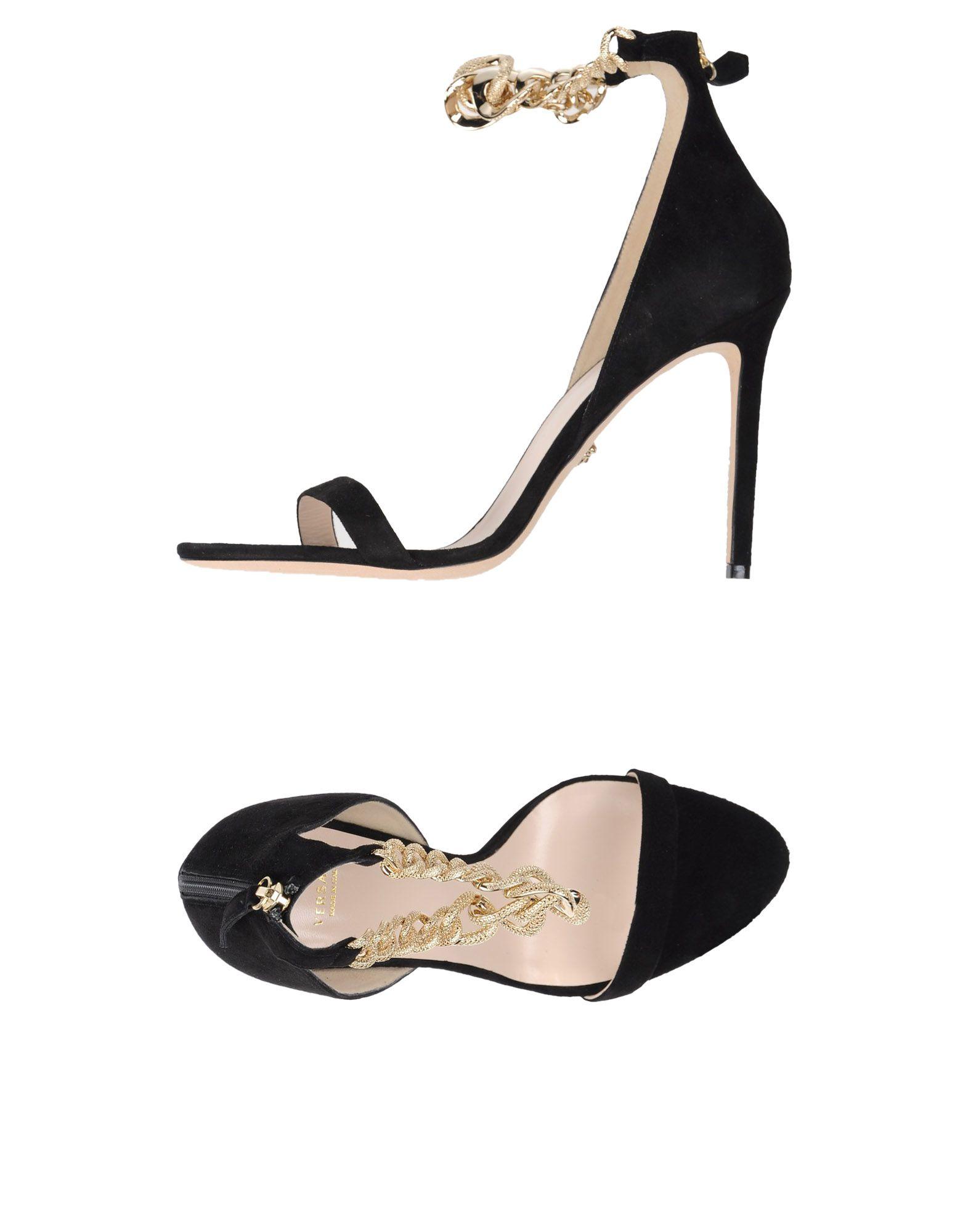 Versace Sandalen aussehende Damen  11331141HJGünstige gut aussehende Sandalen Schuhe e564d0