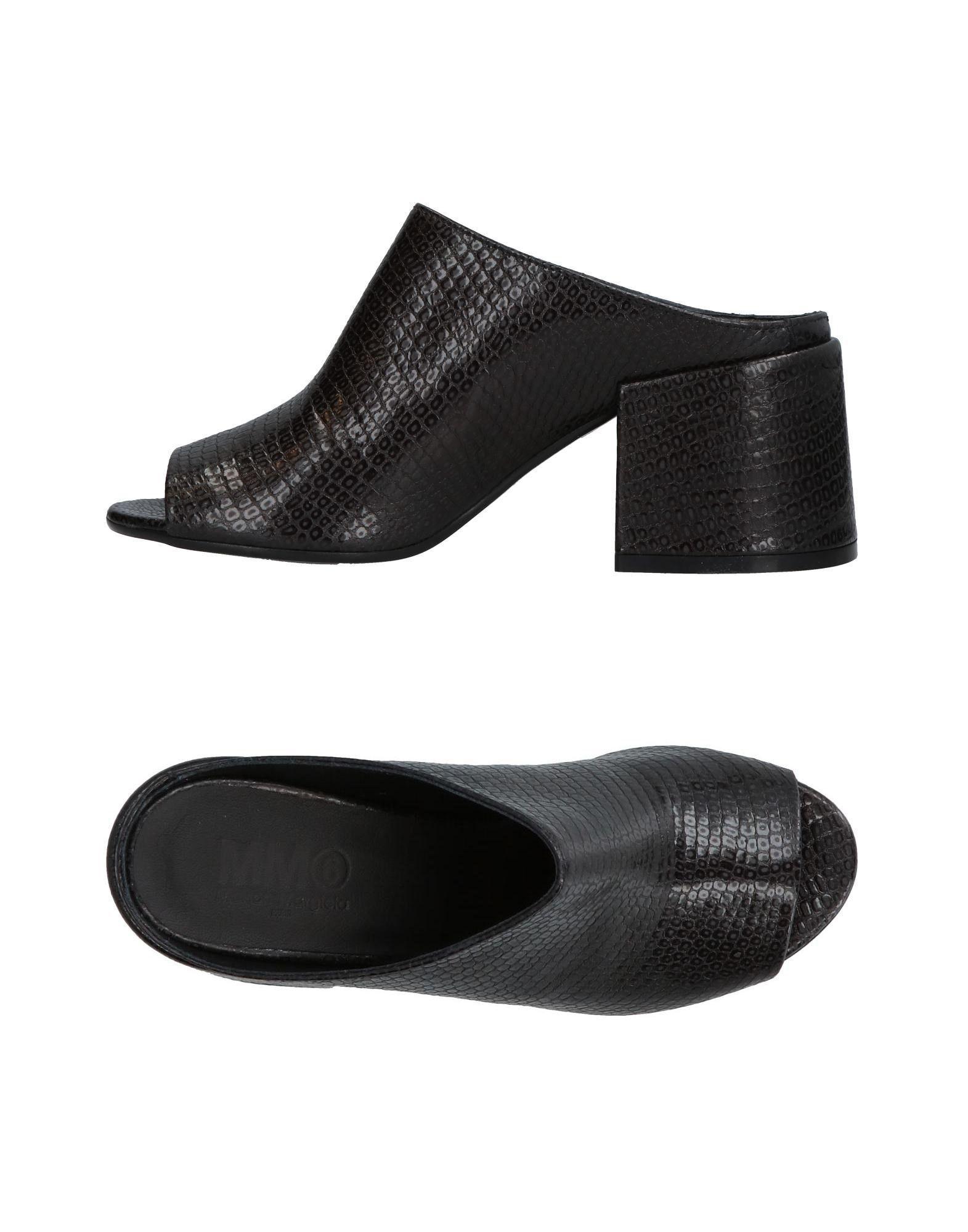Mm6 Maison Margiela Neue Sandalen Damen  11331230PW Neue Margiela Schuhe 42beab