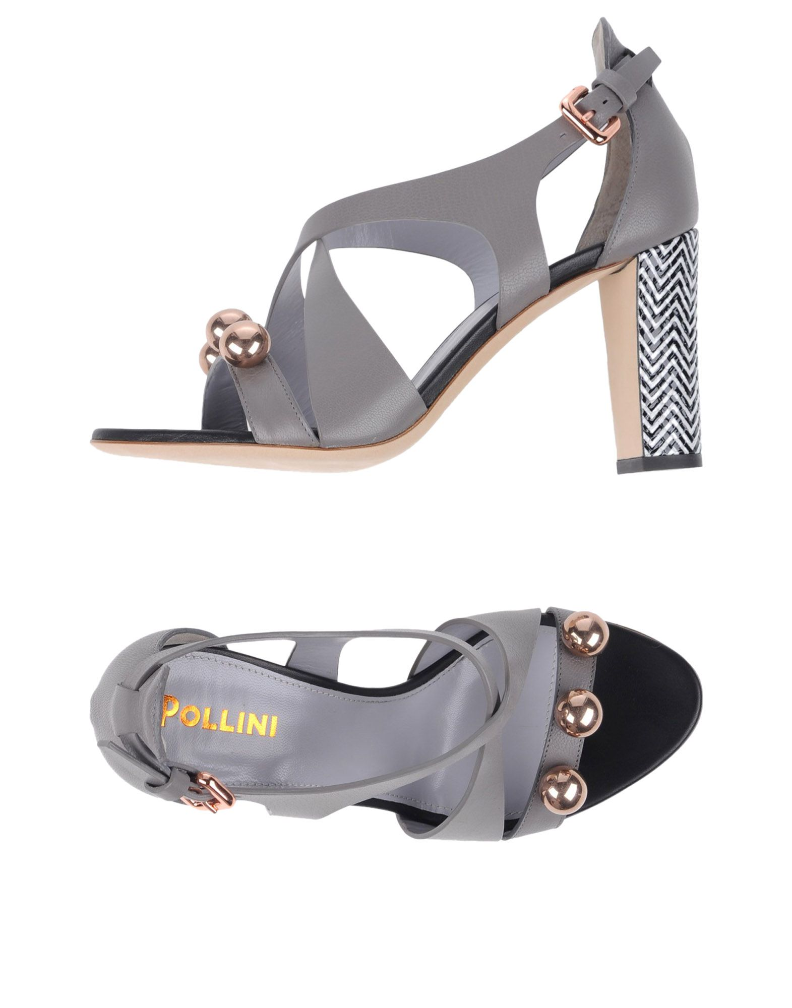 Haltbare Mode billige Schuhe Pollini Sandalen Damen  11331233BK Heiße Schuhe
