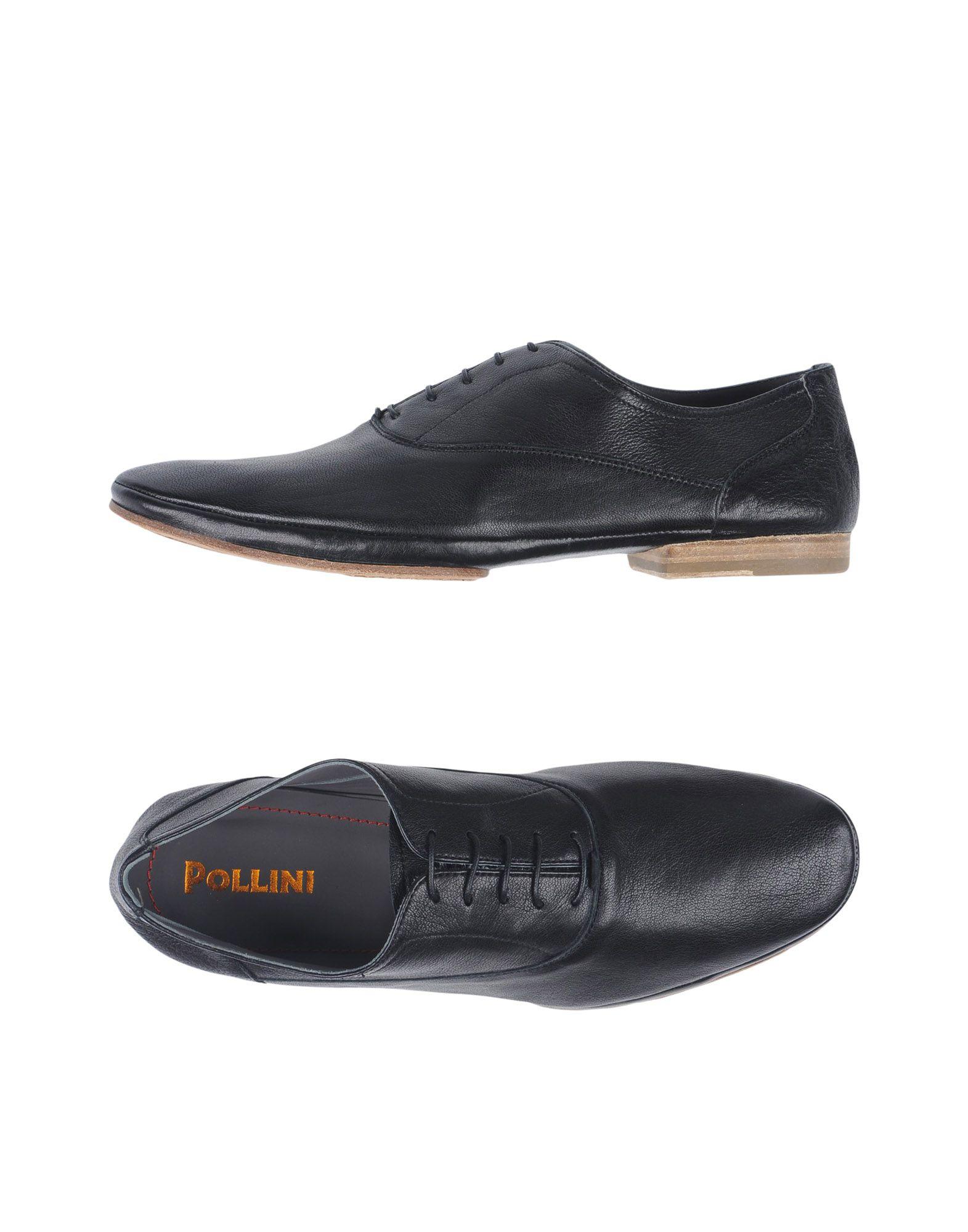 Cómodo y bien De parecido  Zapato De bien Cordones Pollini Hombre - Zapatos De Cordones Pollini 94ef21