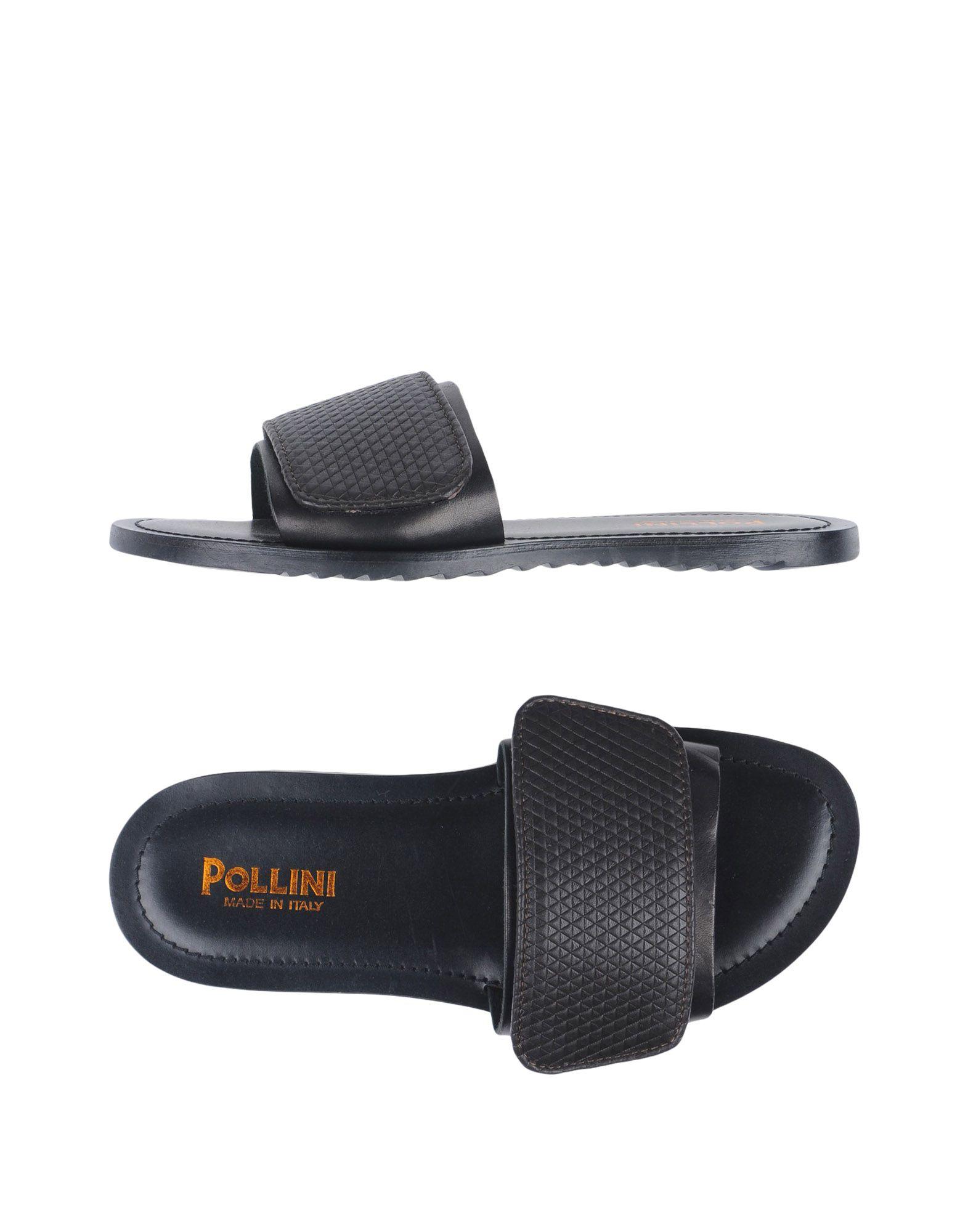 Rabatt echte Schuhe Pollini Sandalen Herren  11331396JL