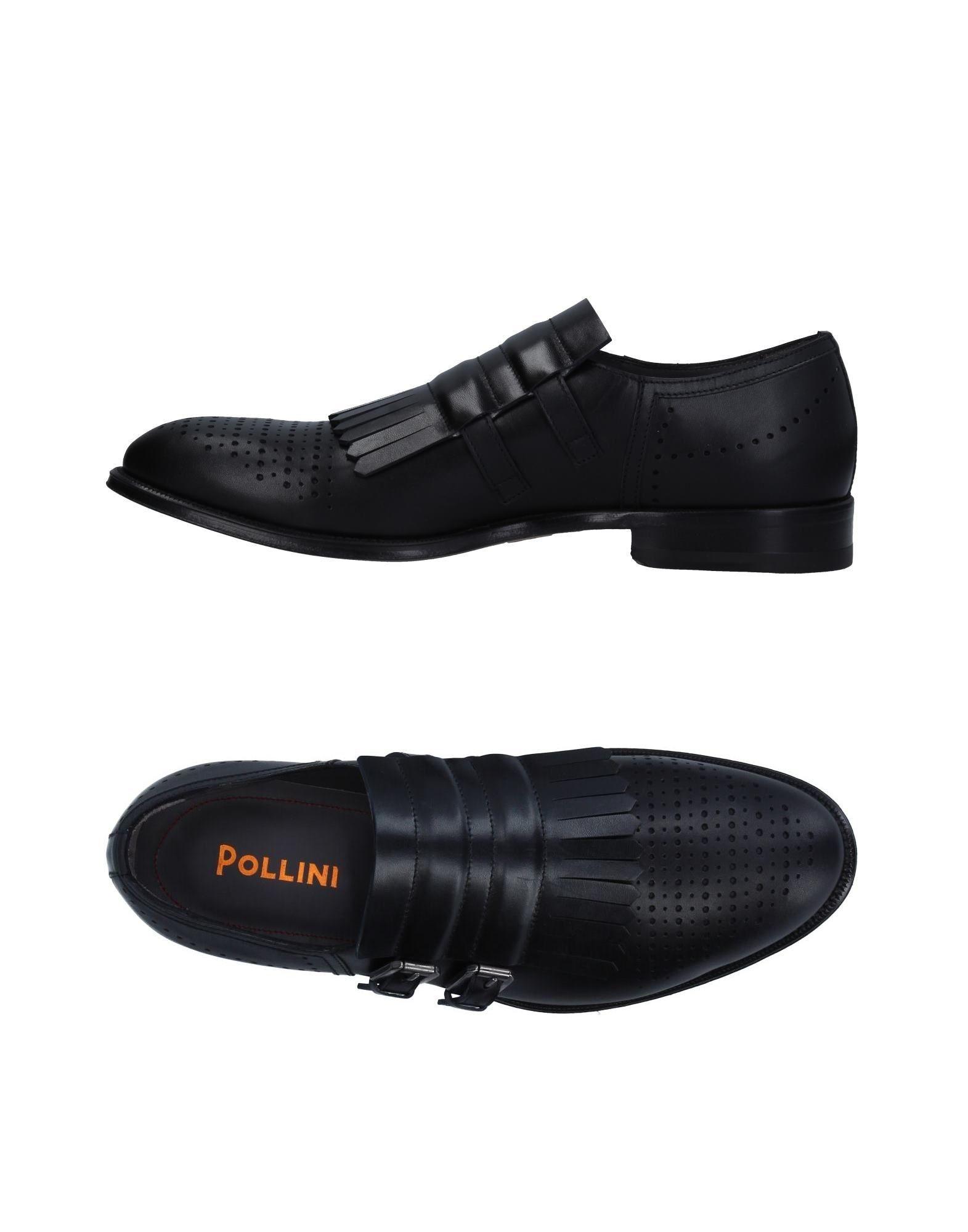 Rabatt echte Schuhe Pollini Mokassins Herren  11331421MB