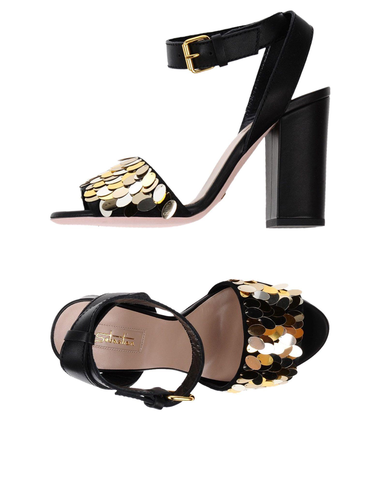 Stilvolle billige Schuhe Sebastian Sandalen Damen  11331711VU
