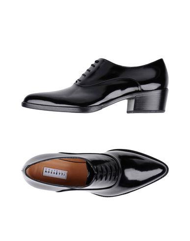 Lacets Noir Fratelli À Chaussures Rossetti qww4PUtIO