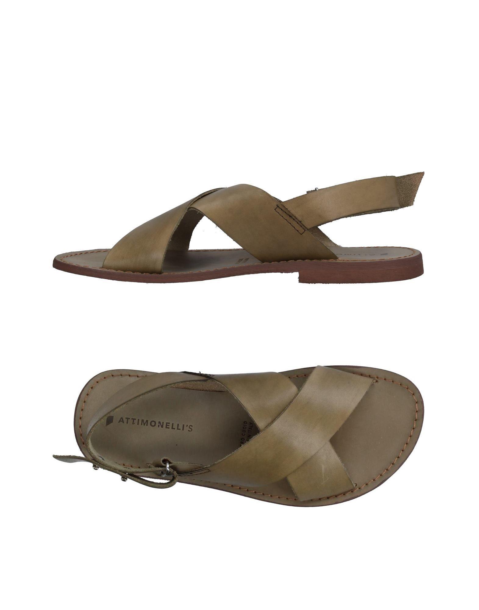 Rabatt echte Schuhe Attimonelli's Sandalen Herren  11332442JX
