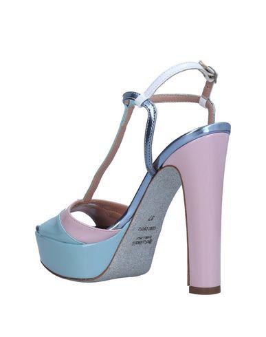E Tacchi Tipe Bleu Sandales Ciel 1pnRq6
